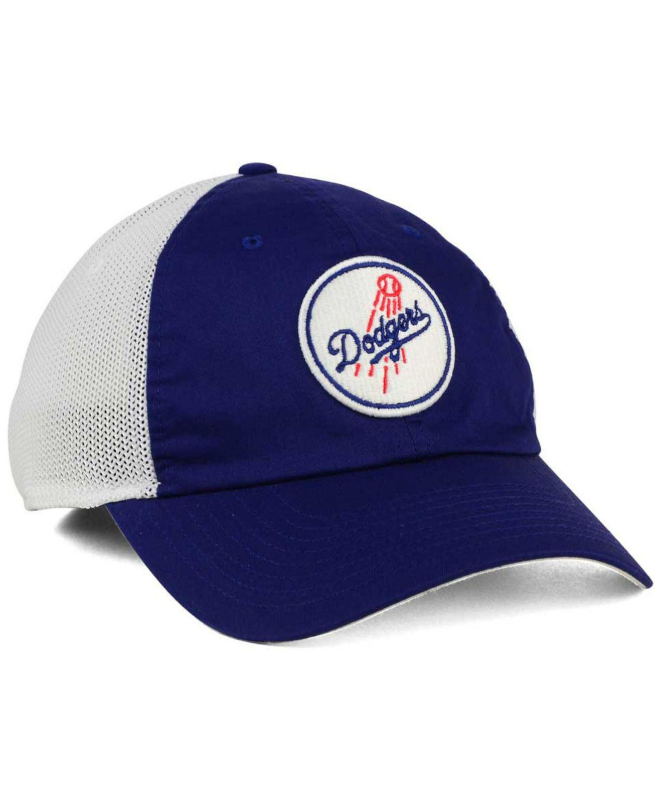 brand new 986a2 ed3f3 Nike - Blue Los Angeles Dodgers Dri-fit Mesh Swoosh Adjustable Cap for Men  -. View fullscreen
