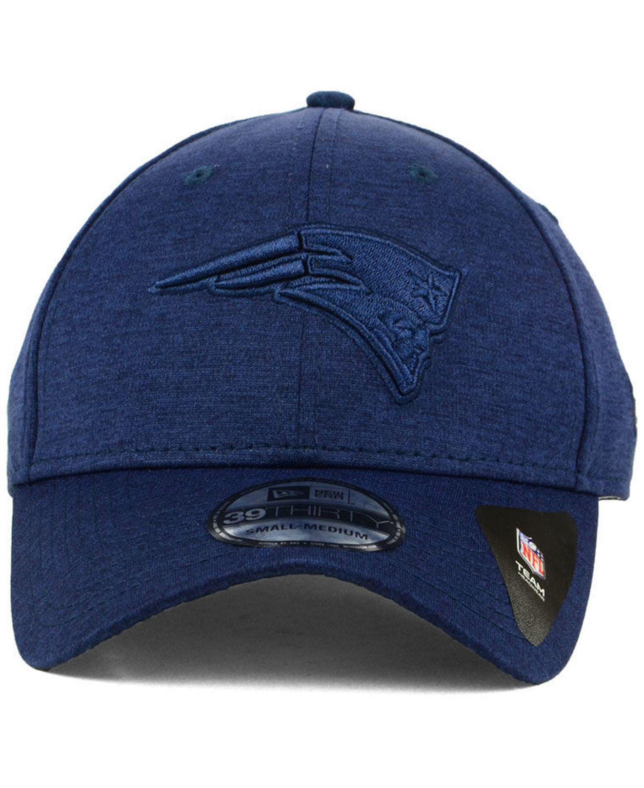 8028063dbbf Lyst - KTZ New England Patriots Tonal Heat 39thirty Cap in Blue for Men