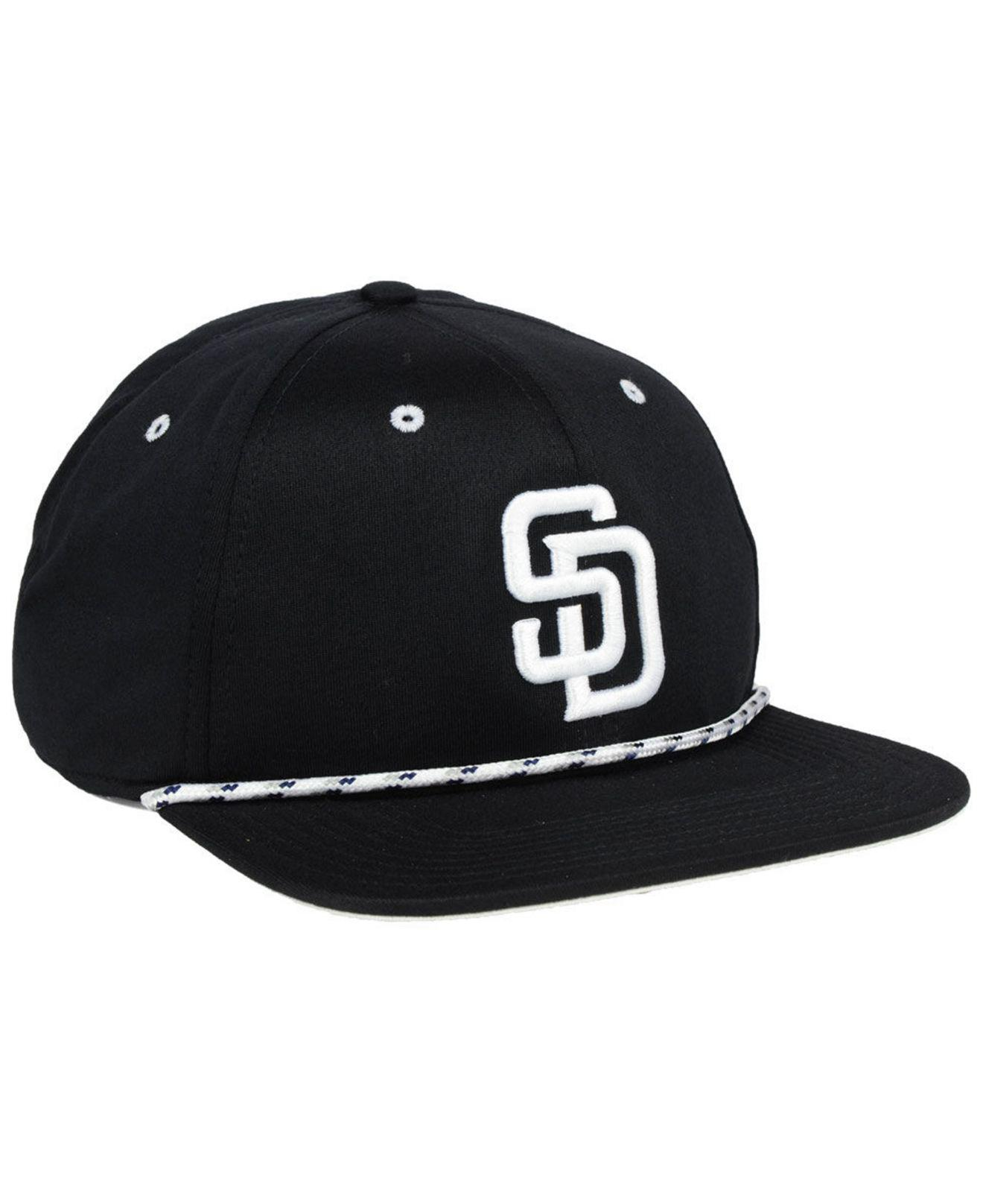 new products 98dc8 3a22b ... shop nike black san diego padres string bill snapback cap for men lyst.  view fullscreen