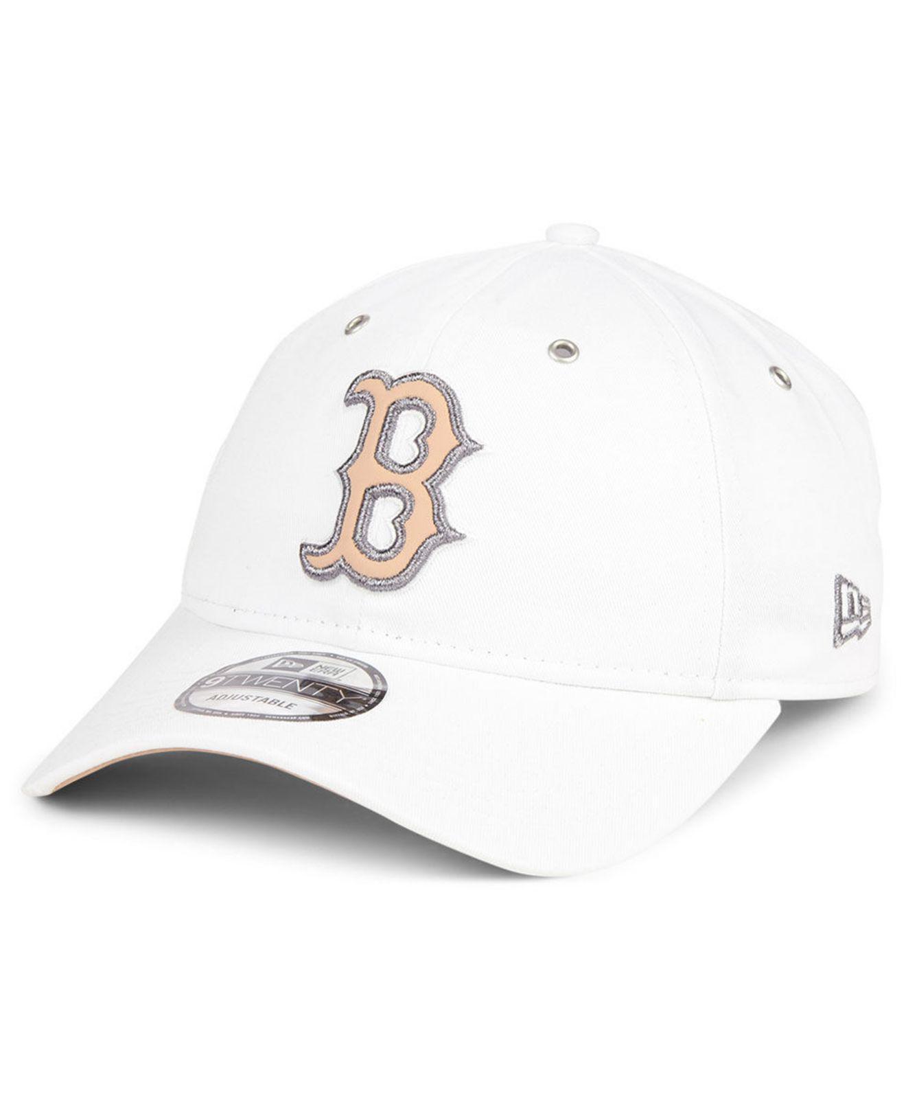 reputable site 4863a 1f701 KTZ Boston Red Sox Metallic Pastel 9twenty Cap in White - Lyst
