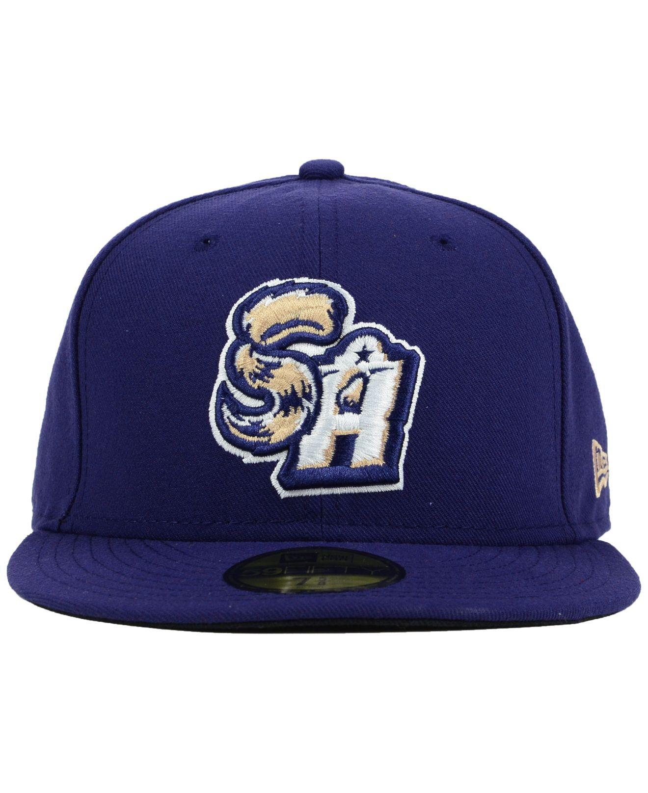 on sale fd27f 0fc3c Lyst - KTZ San Antonio Missions 59fifty Cap in Blue for Men