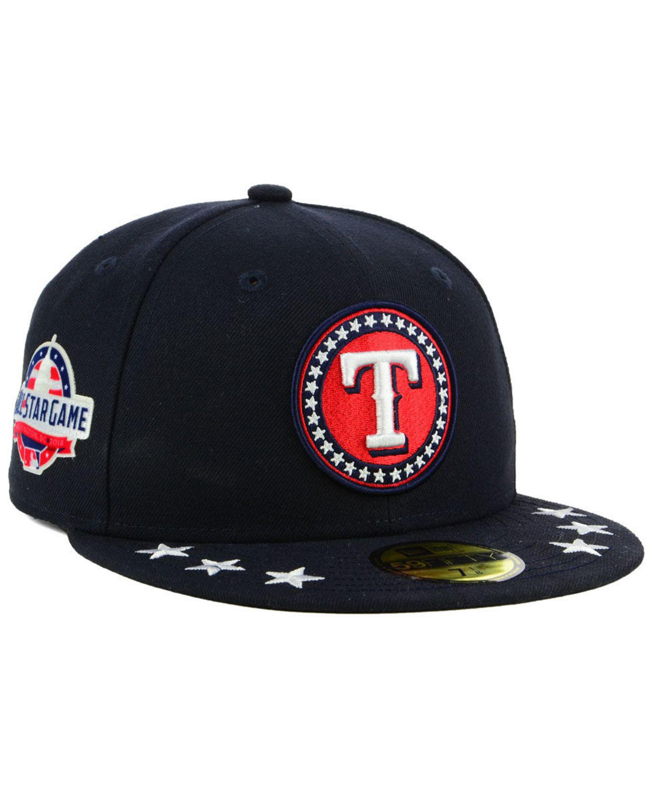 Lyst - Ktz Texas Rangers All Star Workout 59fifty Fitted Cap in Blue ... cc5a9d2a0677