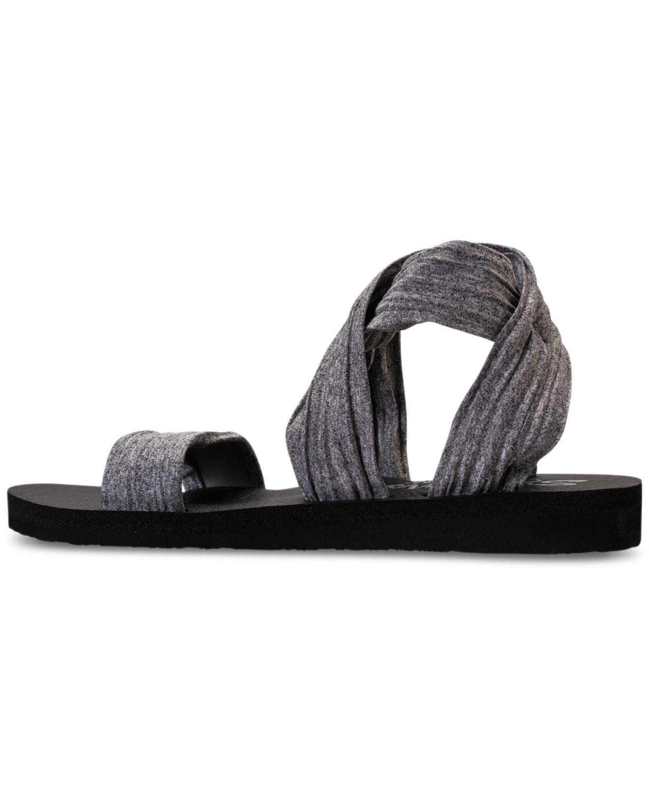 0c10125918b4 Lyst - Skechers Cali Meditation - Still Sky Sandals From Finish Line ...