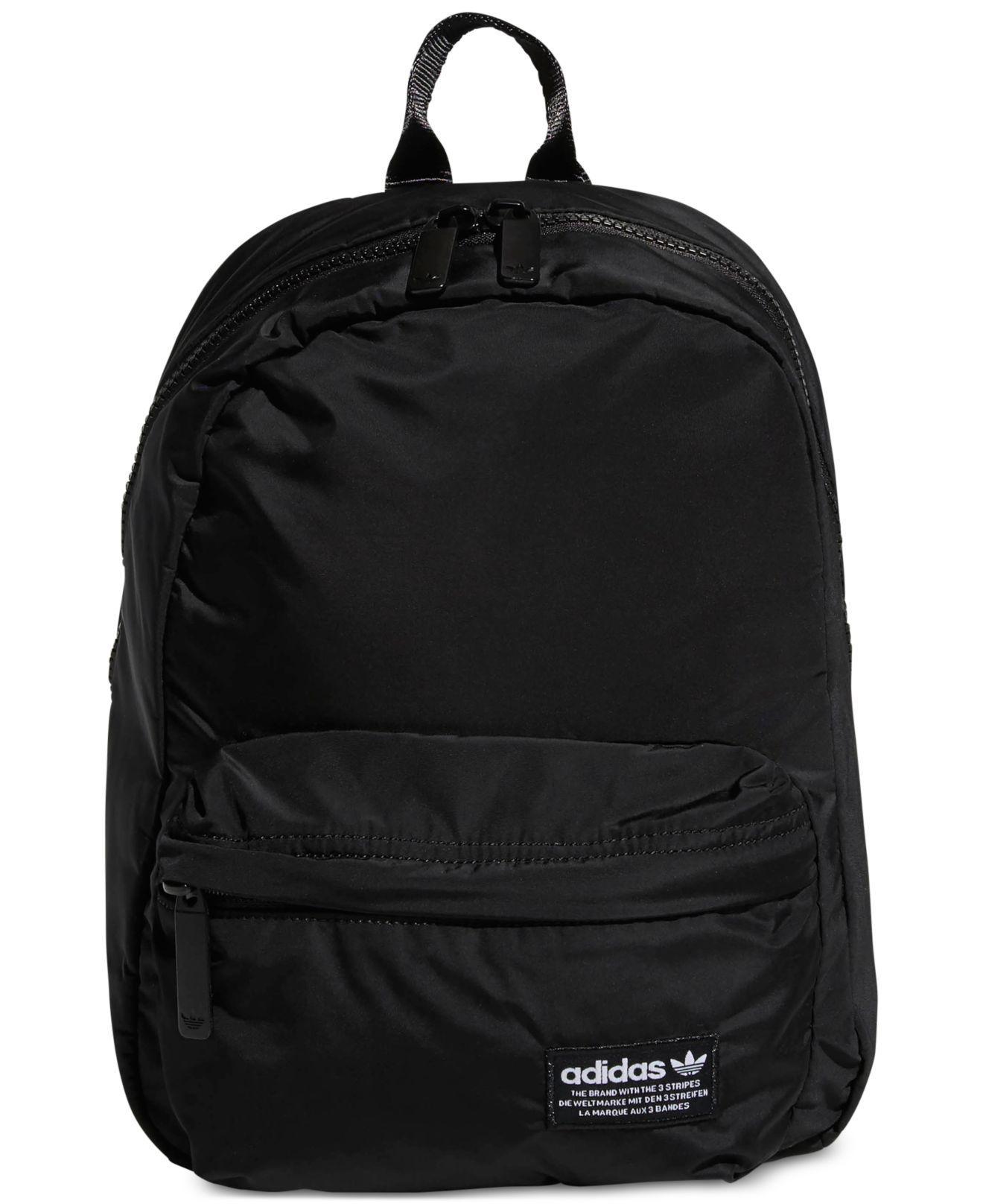4953d979ce7c ... Adidas - Black Originals National Compact Backpack - Lyst. View  fullscreen sale retailer 26651 c3144 . ...