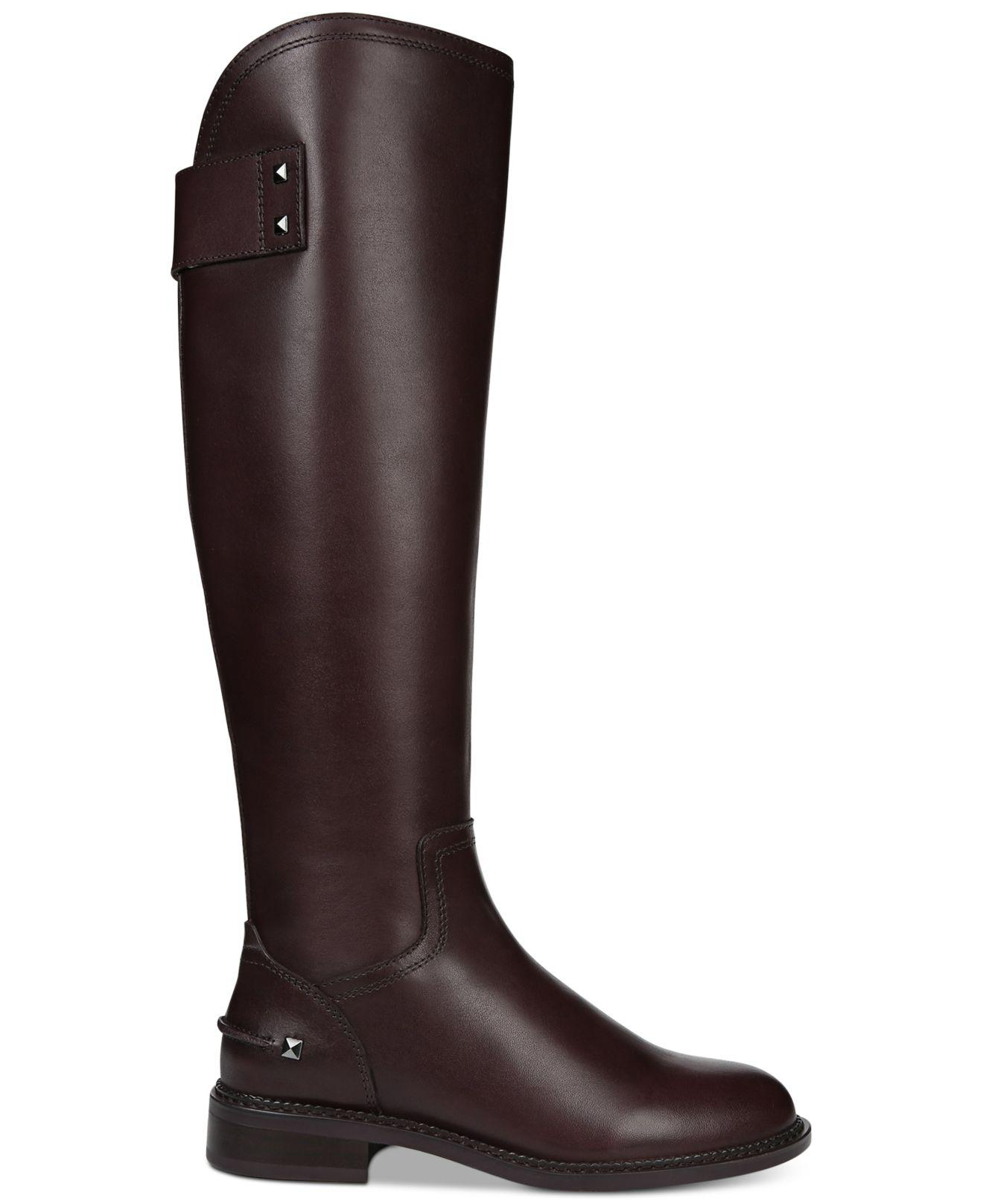 010be6ea81b2 Lyst - Franco Sarto Henrietta Riding Boots in Brown - Save 53%