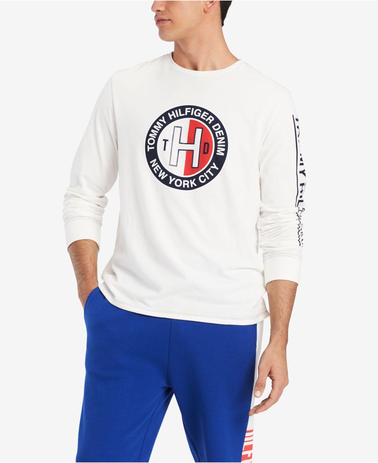 b5ab05388aa039 Tommy Hilfiger. Men s White Allen Graphic Shirt