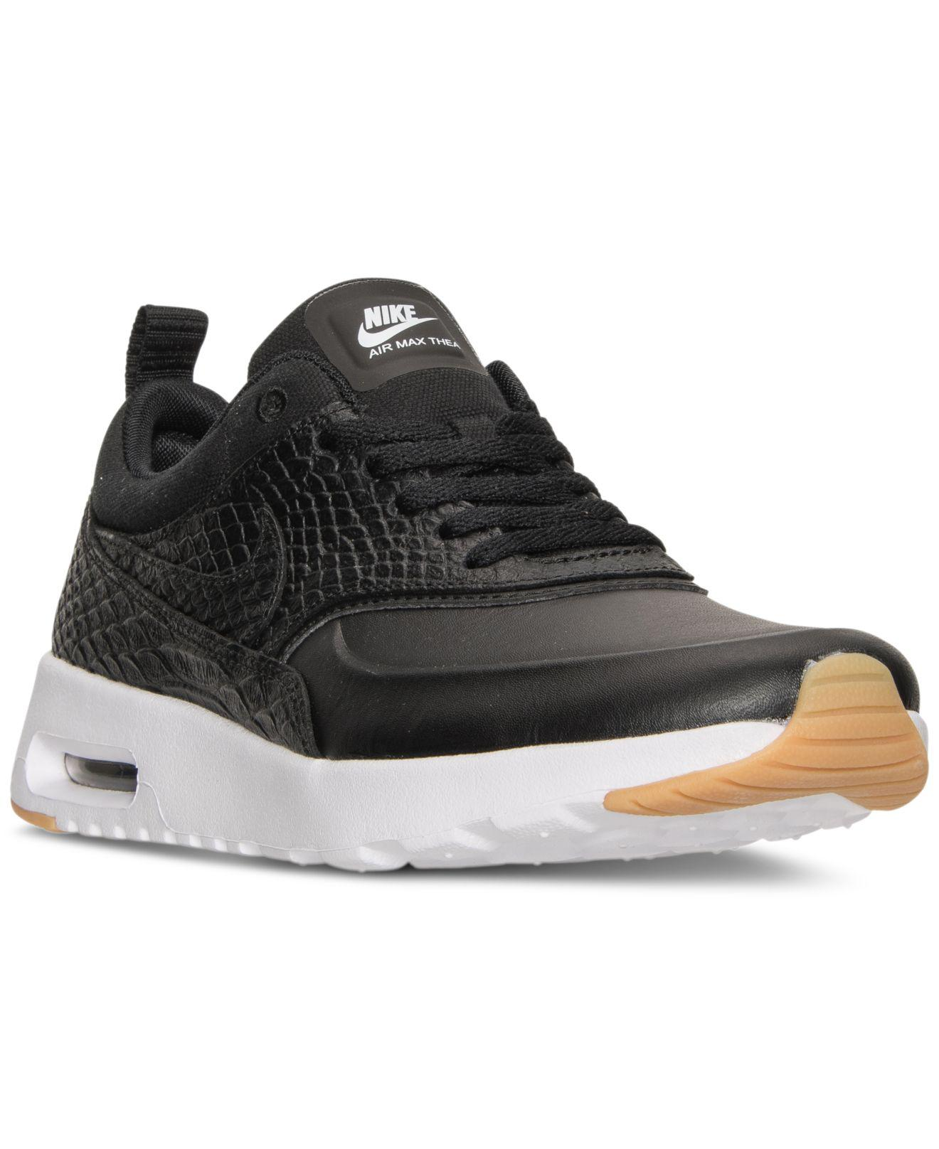 finest selection 71de2 74375 ... best lyst nike air max thea premium running sneakers from finish line  9313a c97fd
