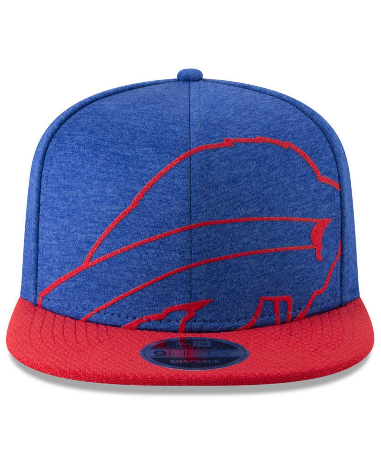 Lyst - Ktz Buffalo Bills Oversized Laser Cut 9fifty Snapback Cap in Blue  for Men a0f7edc97