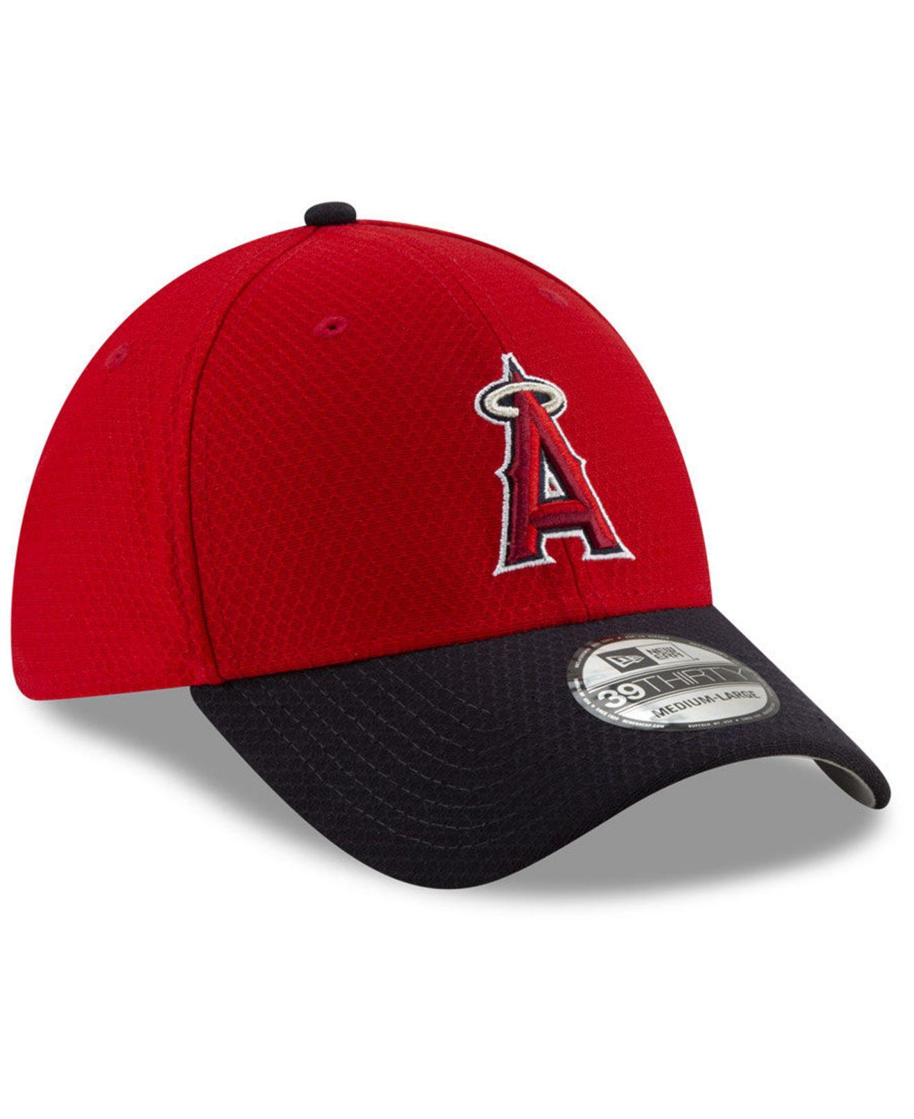 brand new 1549e dc617 ... france los angeles angels batting practice 39thirty cap for men lyst. view  fullscreen 3ee0d 68a62