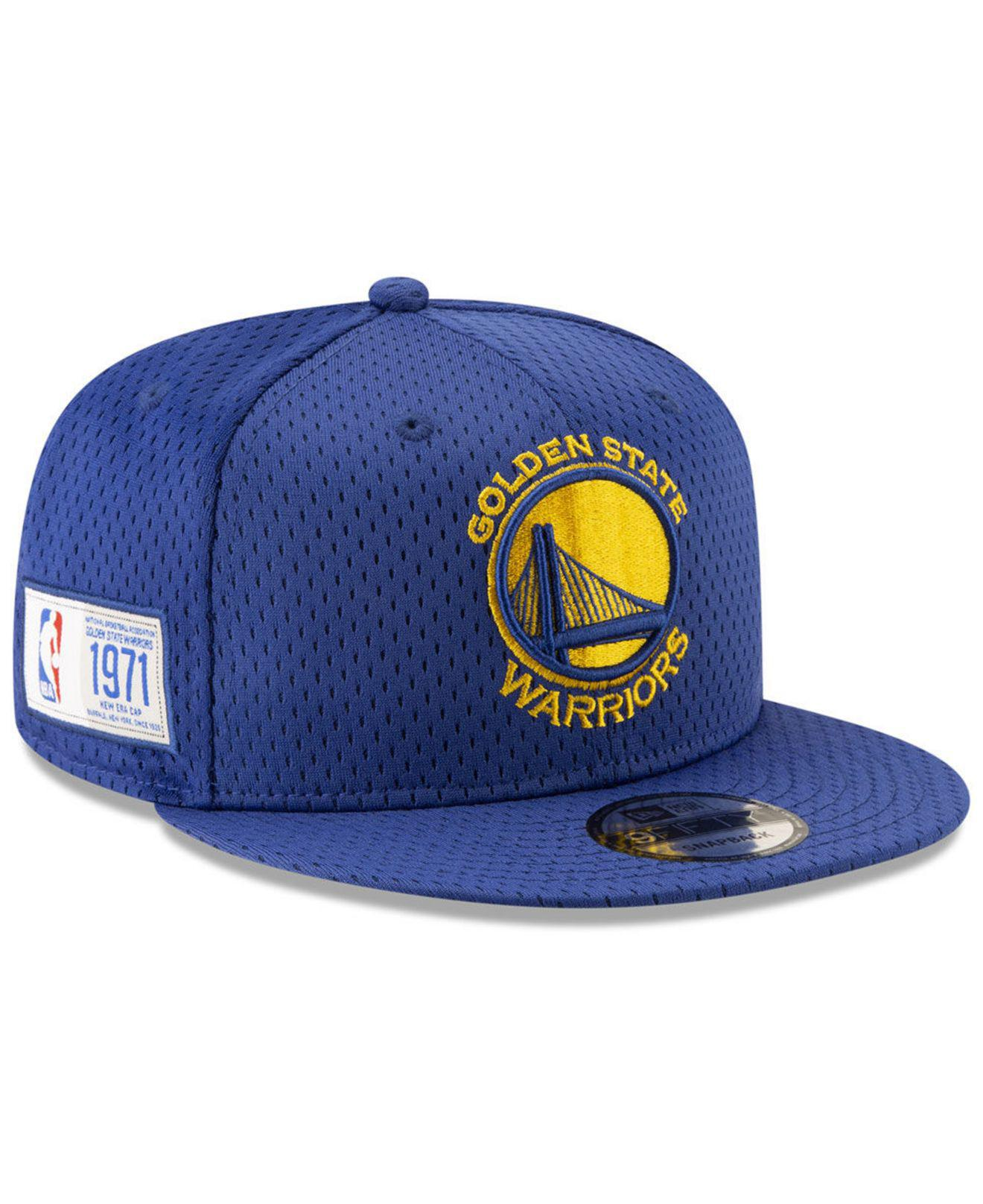 premium selection 454e1 aa49e ... canada ktz. mens blue golden state warriors jock tag 9fifty snapback cap  a0148 ee0ac