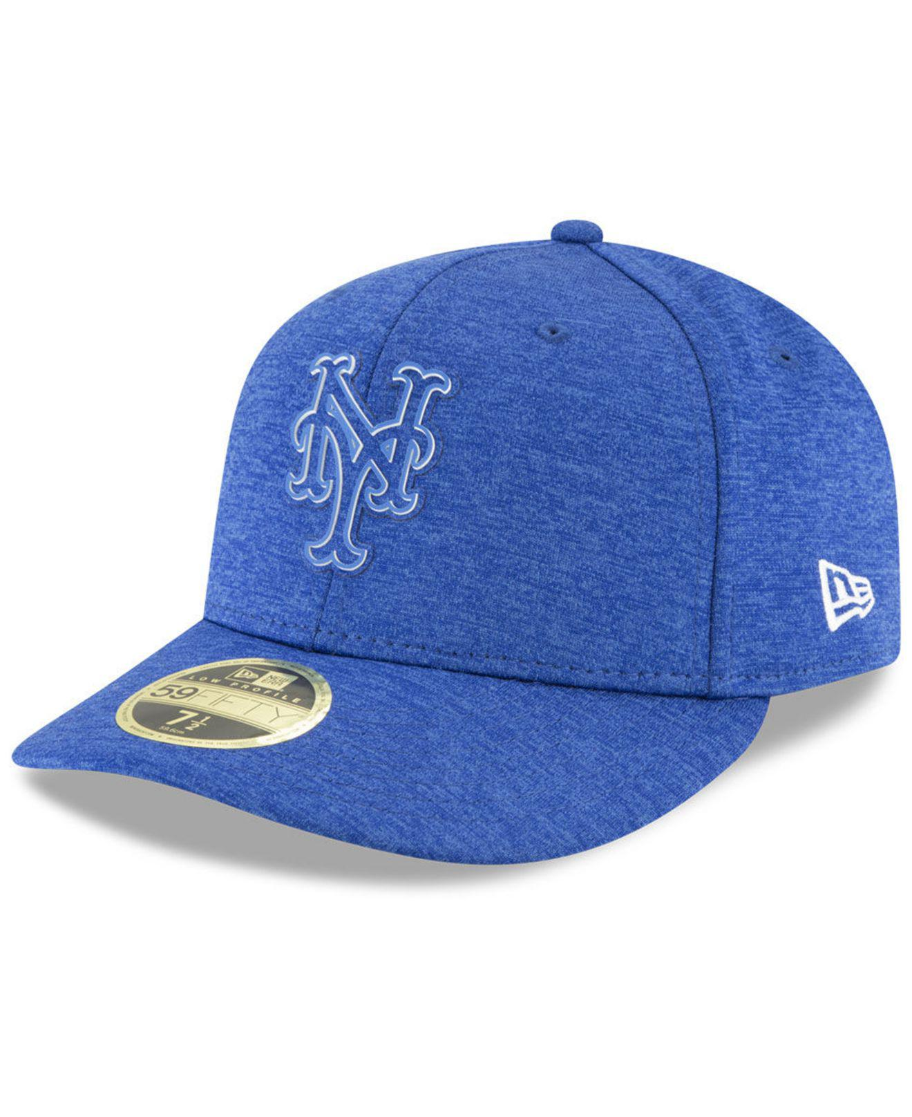 detailed look c3891 73765 ... spain lyst ktz new york mets clubhouse low crown 59fifty fitted cap in  blue for men