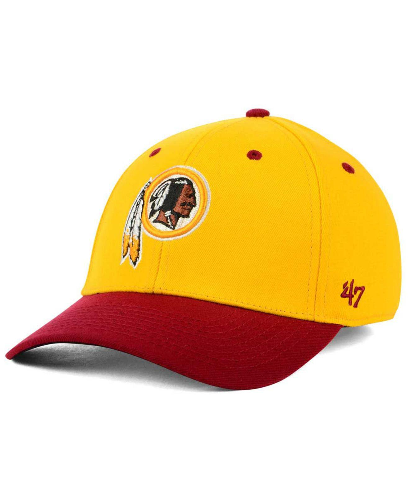 finest selection 213dd 8a415 Lyst - 47 Brand Kickoff 2-tone Contender Cap in Yellow for Men