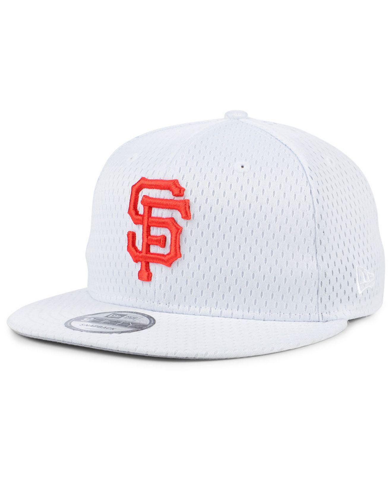 san francisco 8a258 70e81 ... usa ktz. mens white san francisco giants batting practice mesh 9fifty  snapback cap 9aa9c 4281e