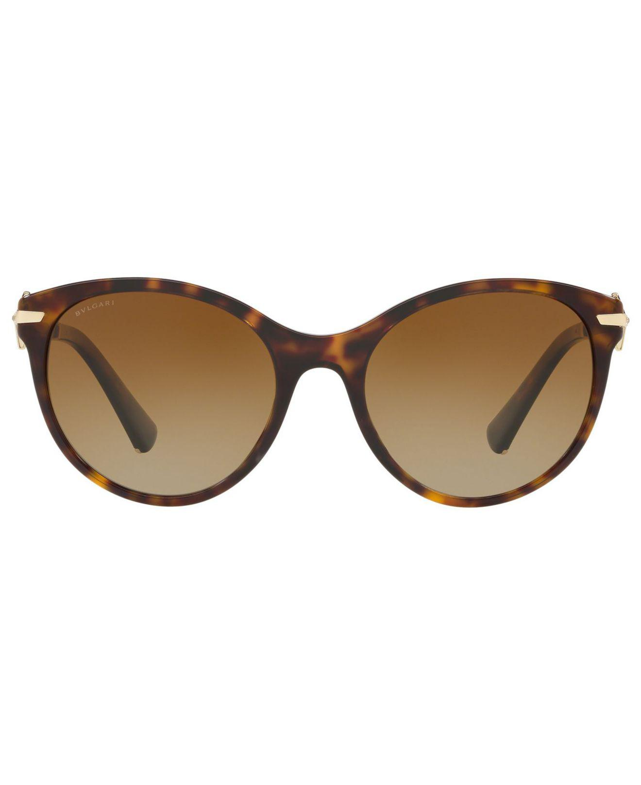 4443ae12ed Lyst - BVLGARI Polarized Sunglasses