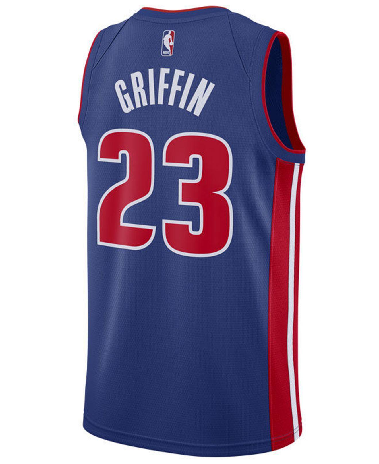 37e74abd0a4 Lyst - Nike Blake Griffin Detroit Pistons Icon Swingman Jersey in ...