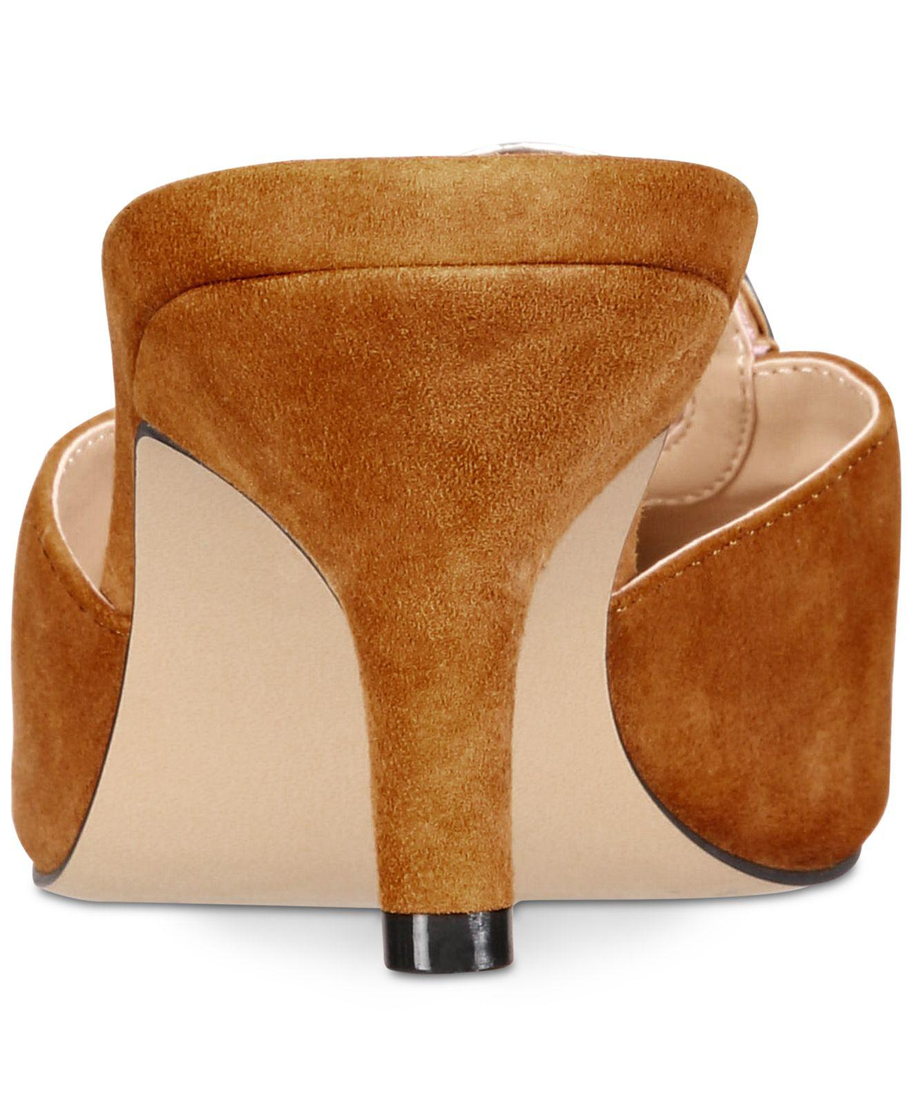 952607269a Lyst - Callisto Grandy Pointed-toe Kitten-heel Mules, Created For ...