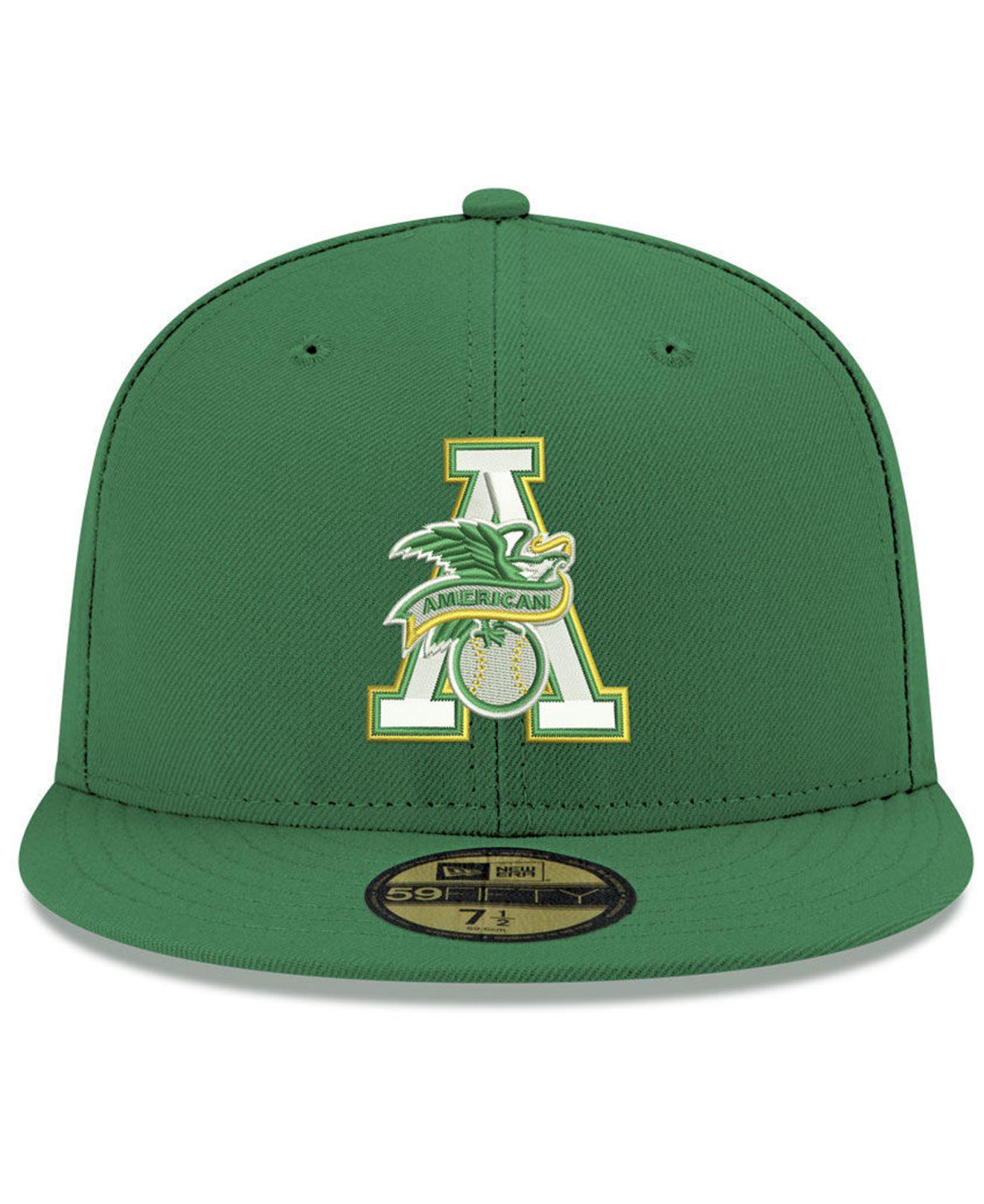 1ca8edadc73a1 Lyst - KTZ Oakland Athletics League Front 59fifty Fitted Cap in ...