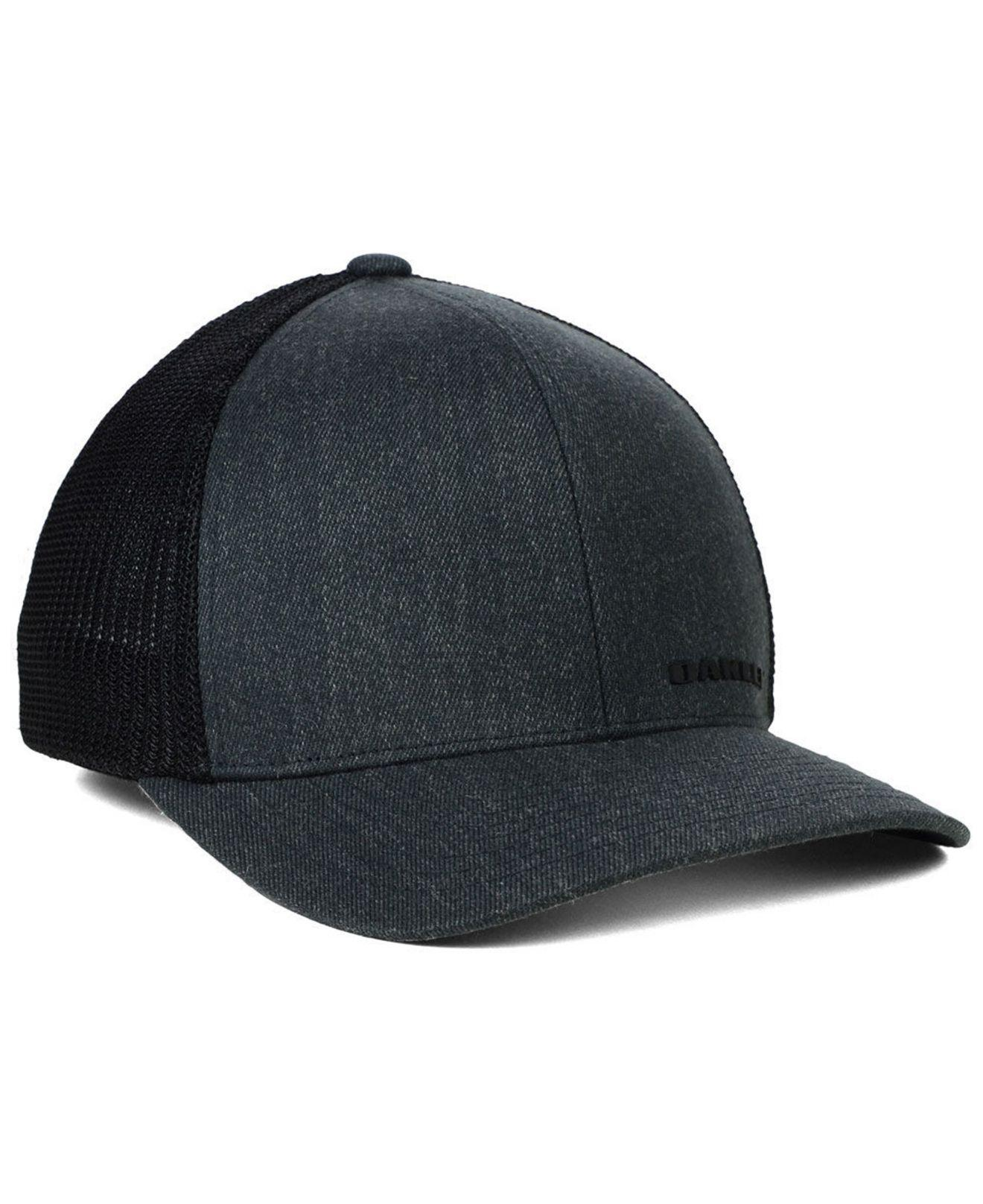 Lyst - Oakley Indy Hat in Black for Men a85bc86d6b1f