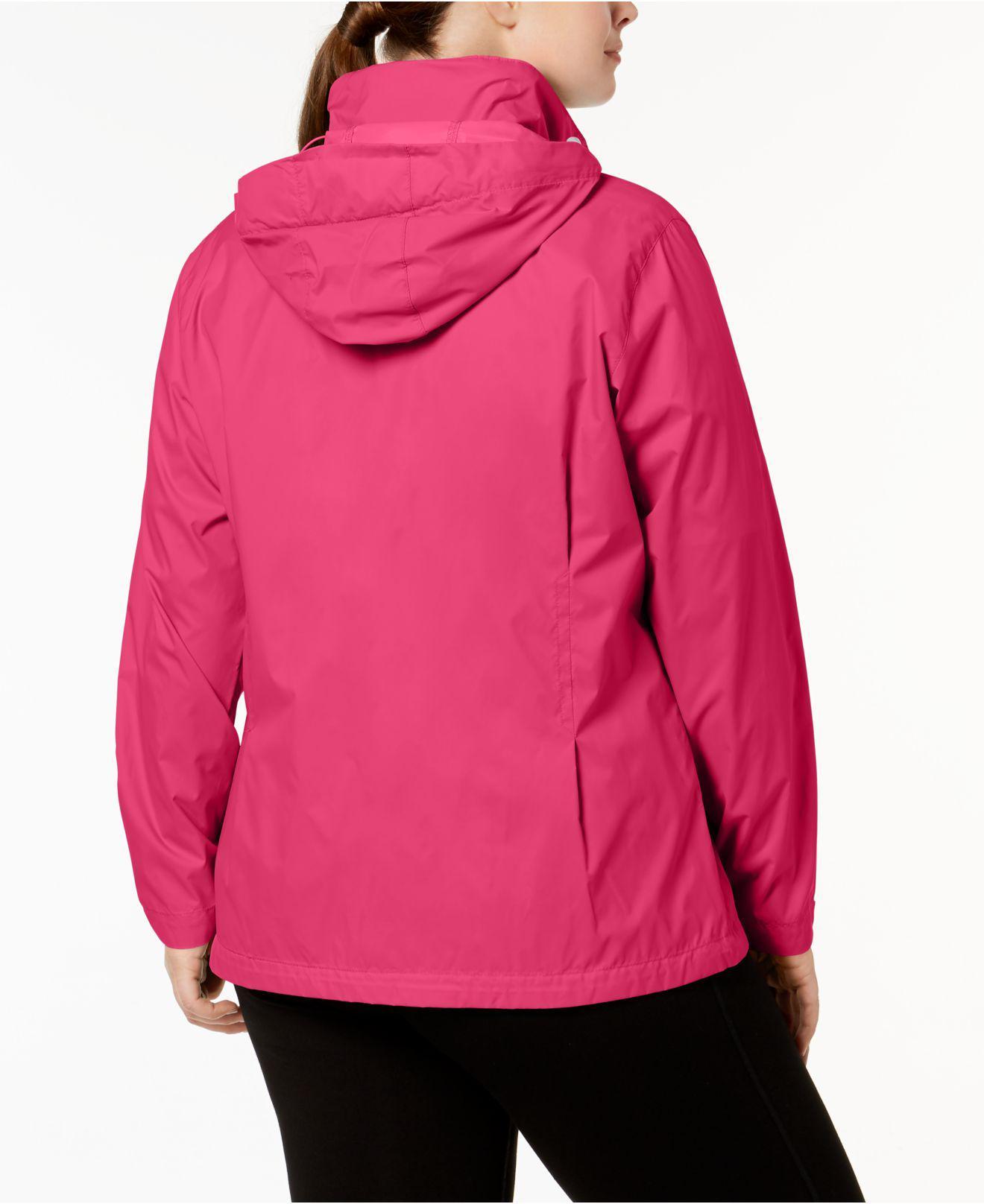12dc363c9eb Women s Pink Plus Size Switchback Iii Jacket