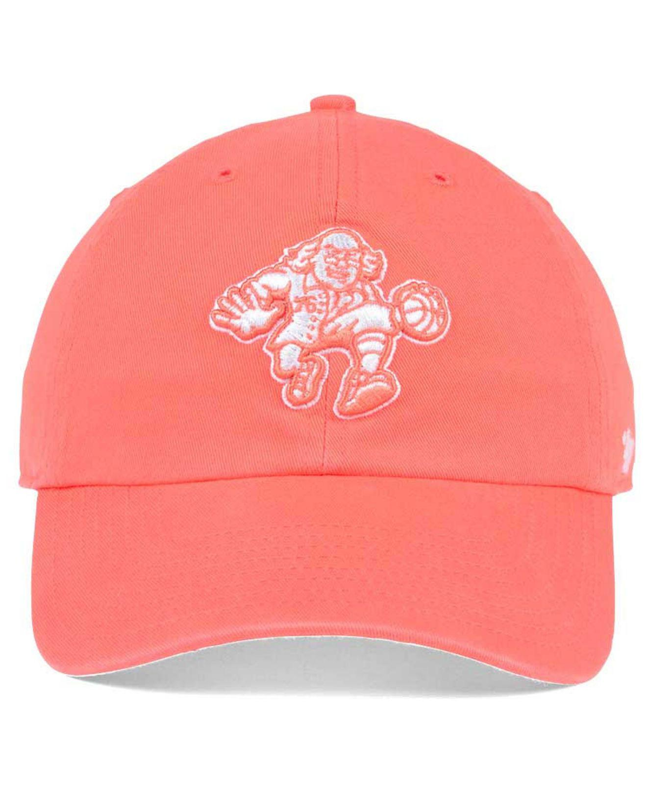 new concept 133fc 964e3 ... shopping lyst 47 brand pastel rush clean up cap in pink for men d303a  7f892