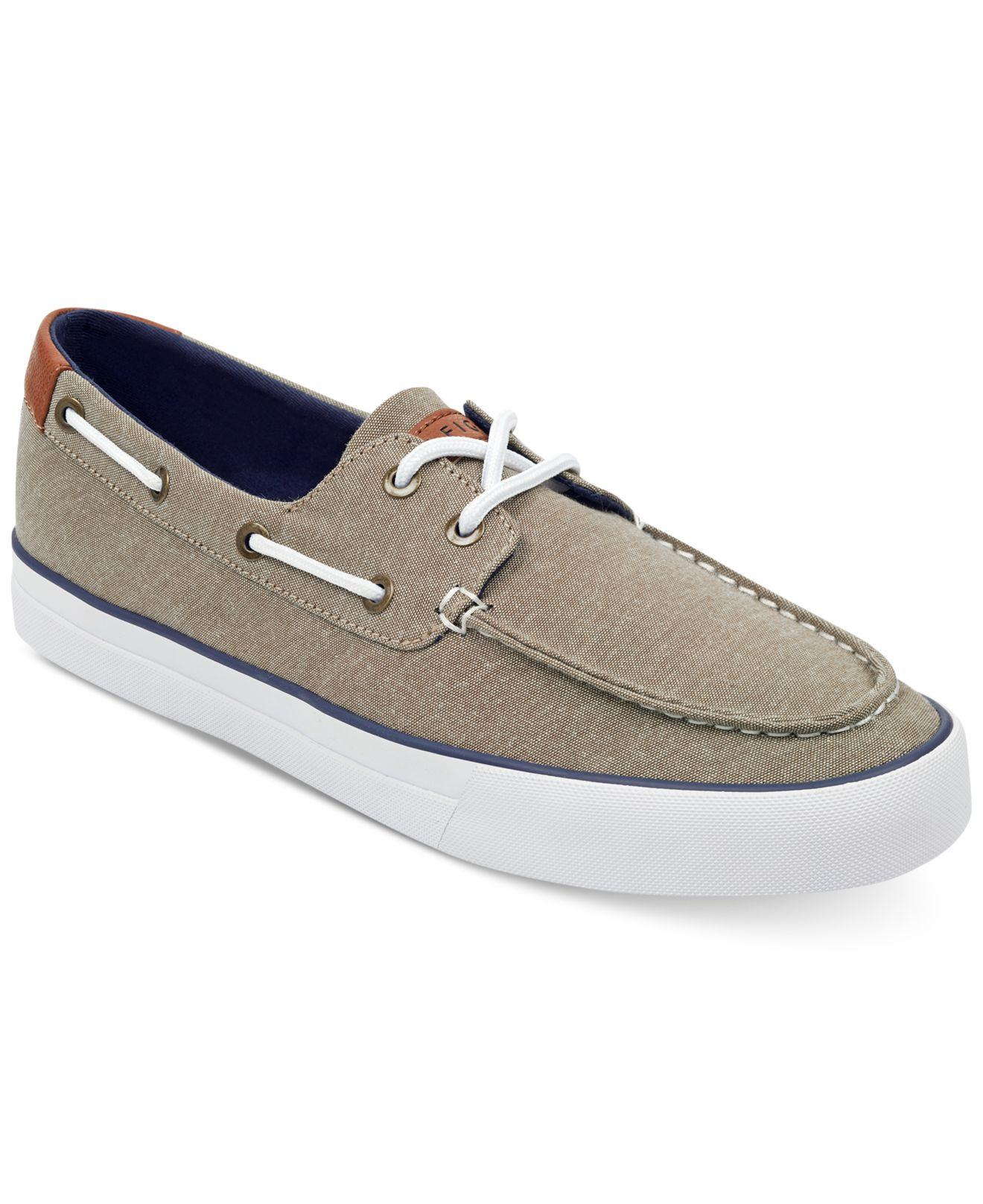 db15c3daa1e932 Tommy Hilfiger. Men s Natural Petes Boat Shoes.  60 From Macy s