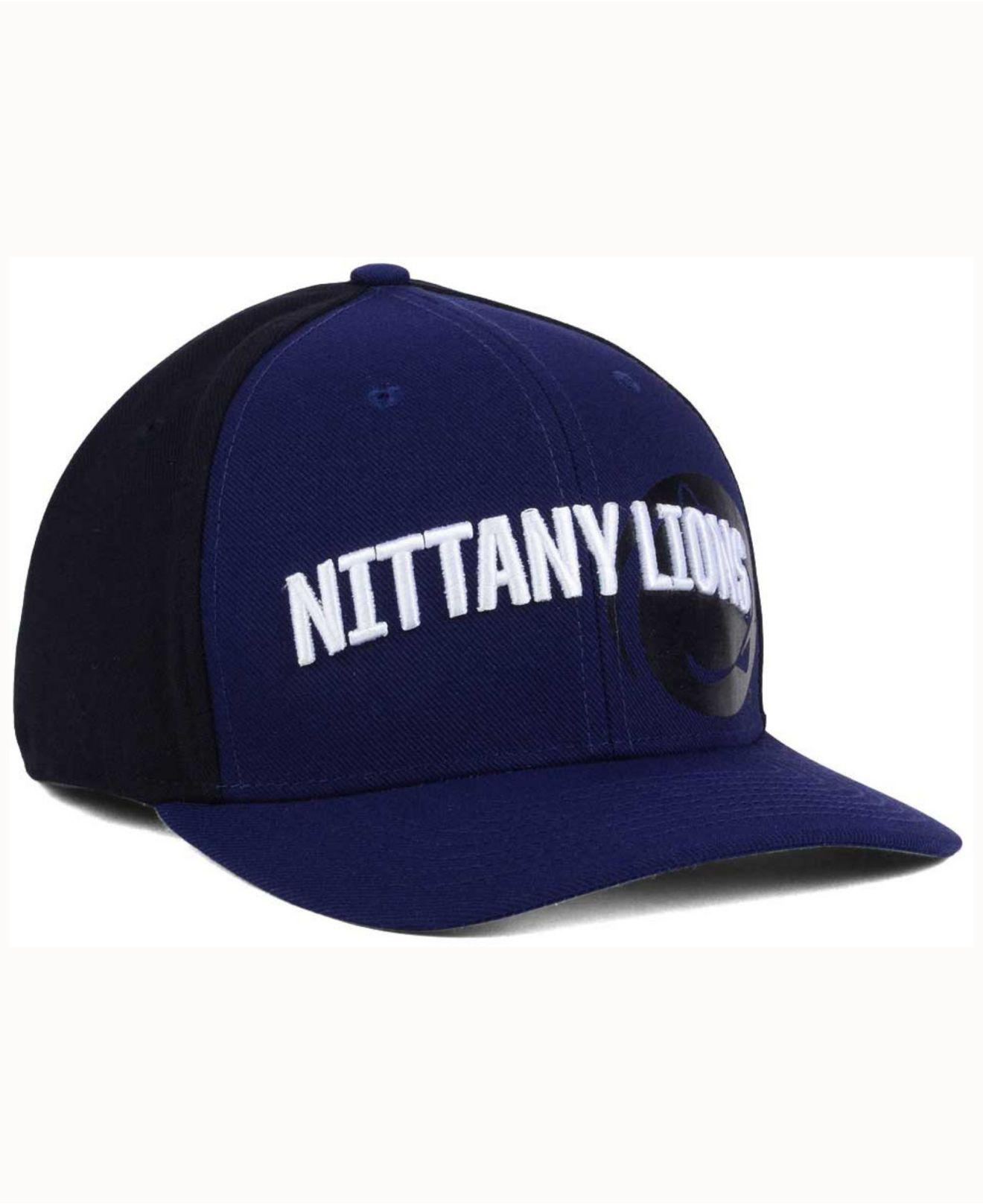 the latest 8b6d0 1c138 ... norway nike blue penn state nittany lions classic 99 swoosh flex cap  for men lyst.