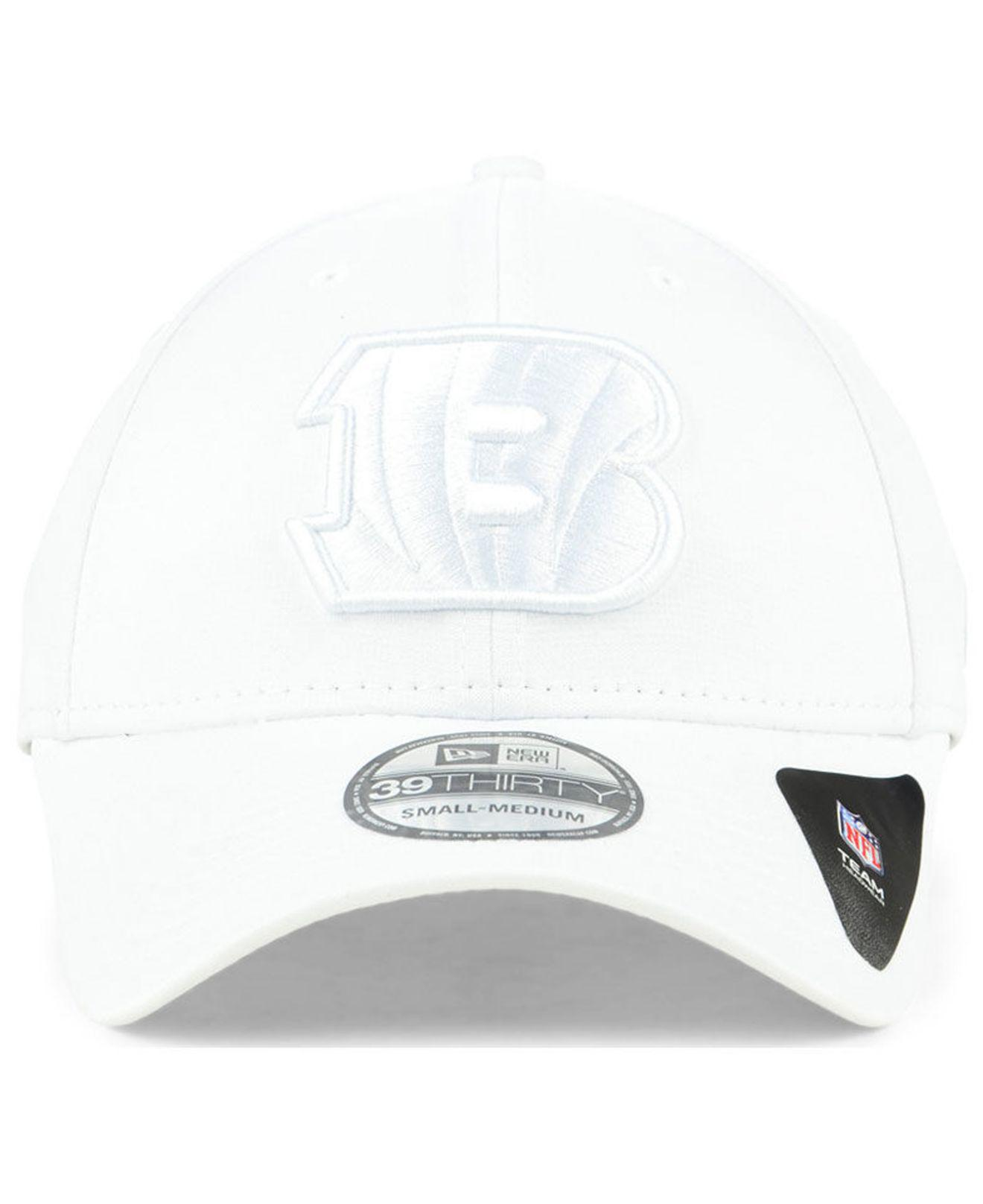 best service 5503a 8762f Lyst - KTZ Cincinnati Bengals Tonal Heat 39thirty Cap in White for Men -  Save 14%