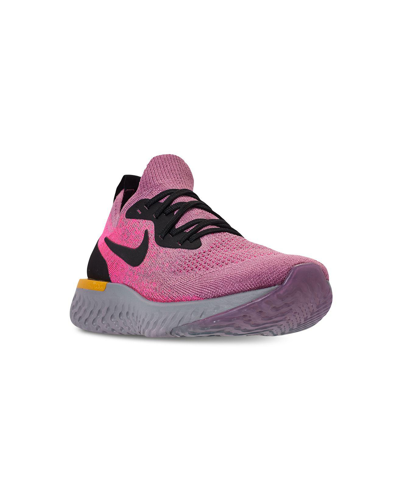 2eb88c227f21 Lyst - Nike Epic React Flyknit in Purple - Save 62%