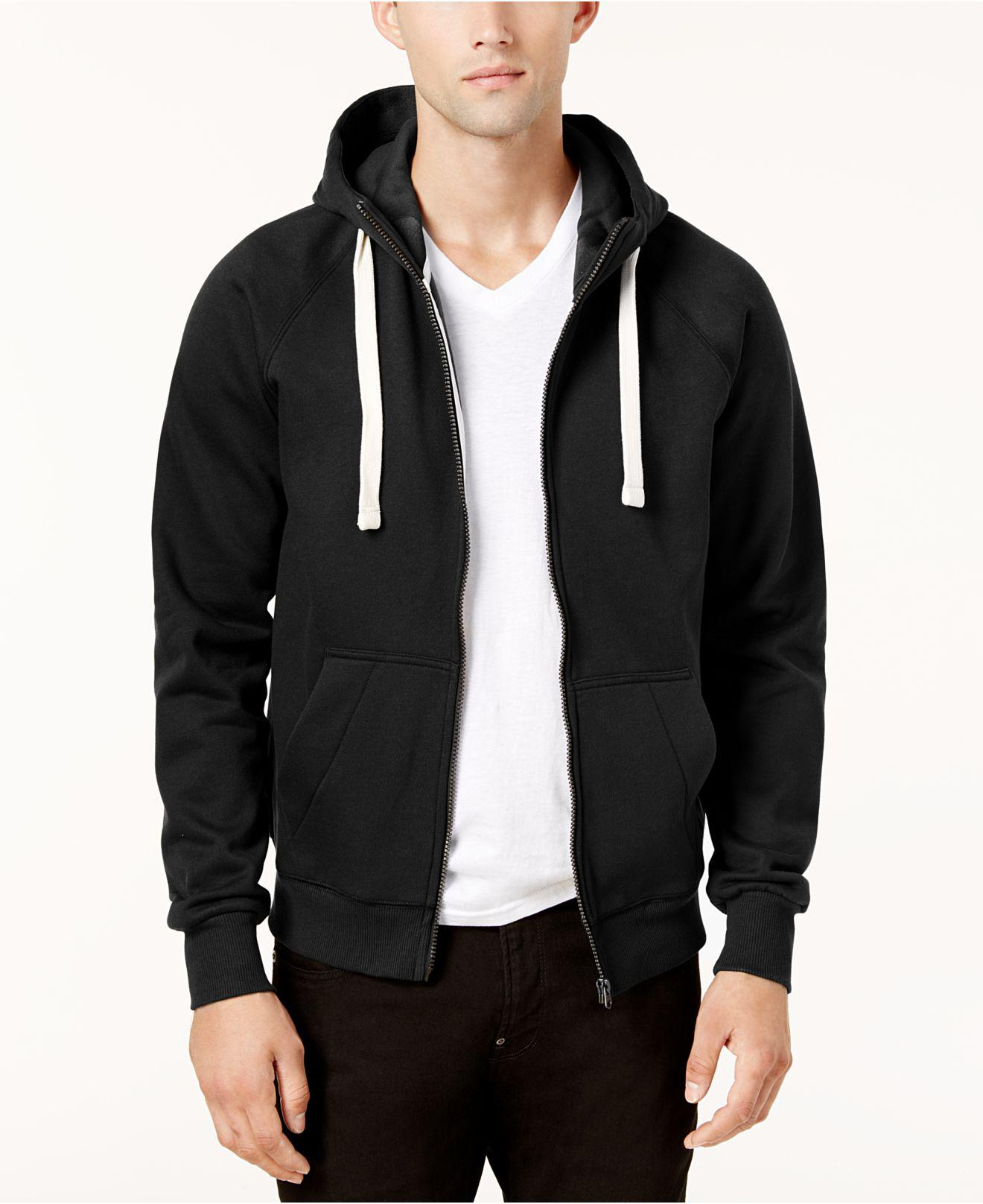 c0240b0280c G-Star RAW Men s Zip-front Hoodie in Black for Men - Lyst