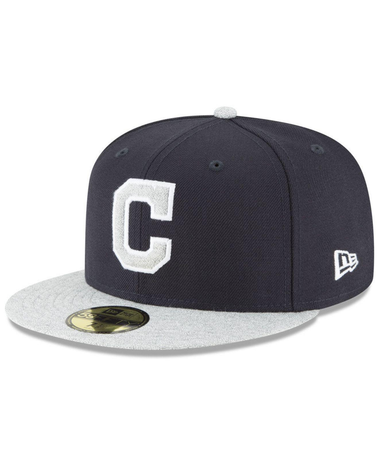 detailed look e4836 817d7 ... where can i buy ktz. mens blue cleveland indians pop color 59fifty  fitted cap 91d08