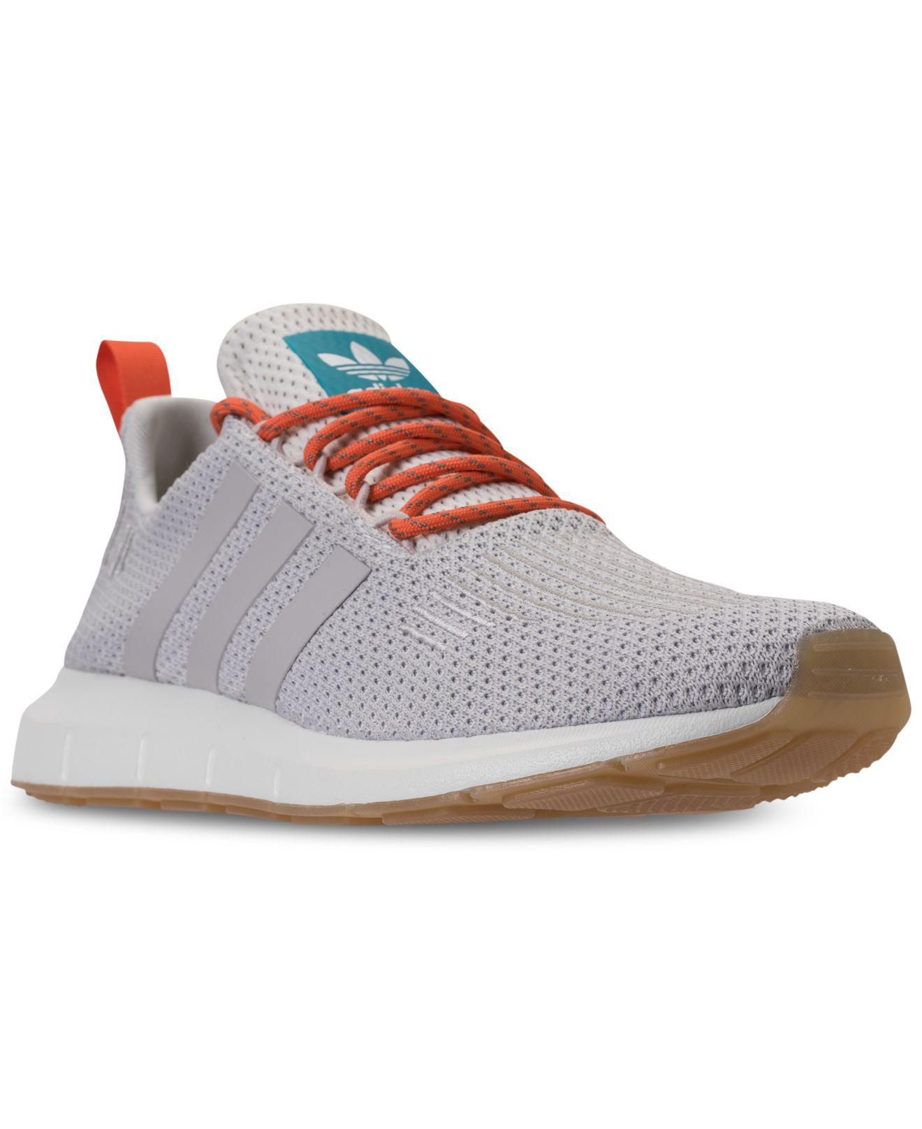 70501ba2f ... promo code lyst adidas swift run casual sneakers from finish line in  gray for men eb65e