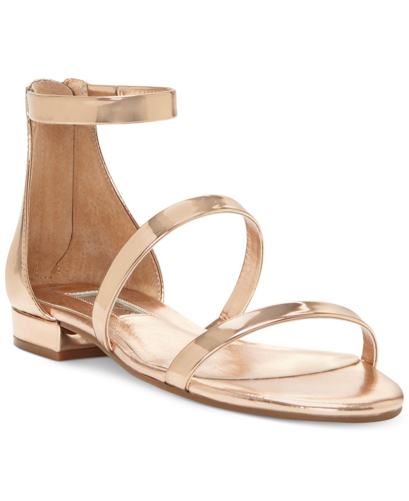 0313677c8de78 Lyst - INC International Concepts Yessenia Strappy Flat Sandals ...