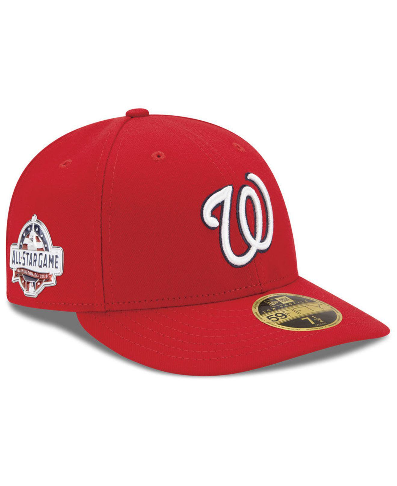 newest collection 06eab 0a30d Lyst - KTZ Washington Nationals Washington All Star Game Patch Low ...