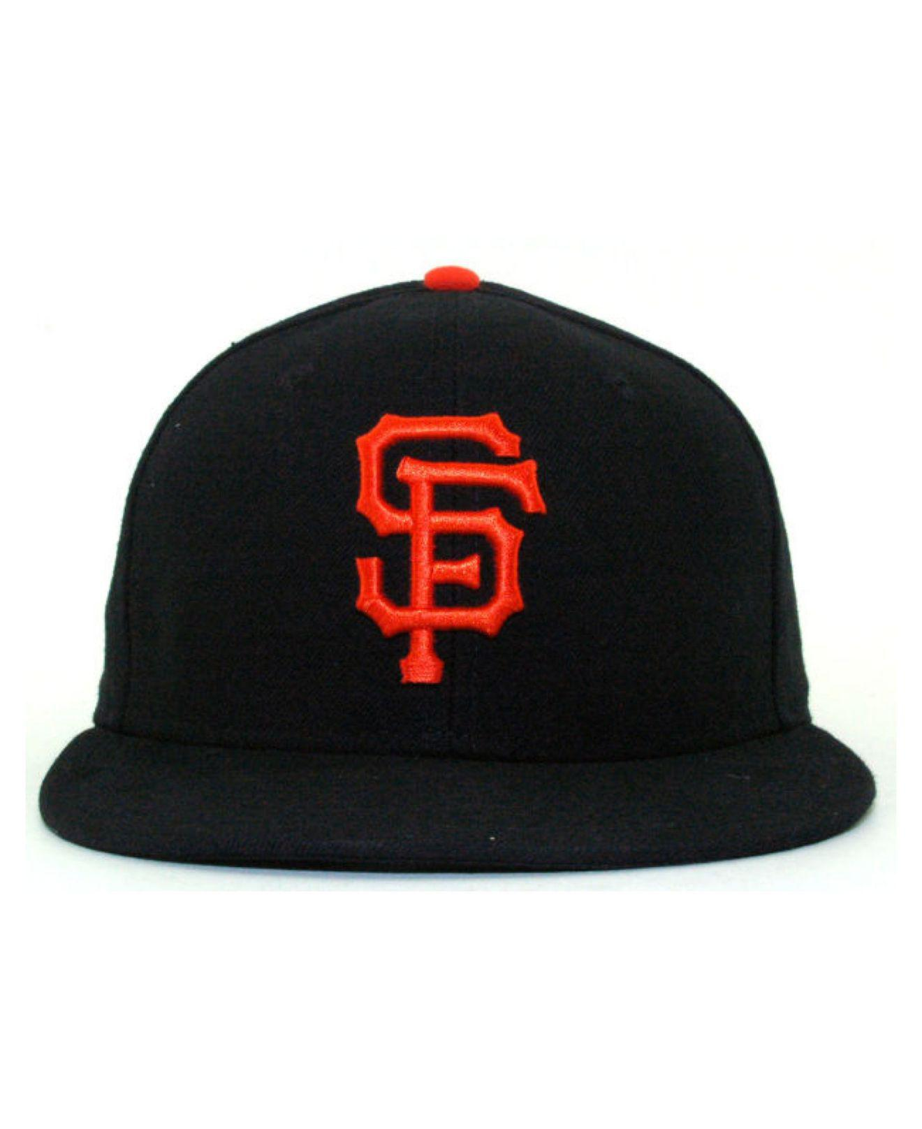 the best attitude 8e5b8 66cae Lyst - KTZ San Francisco Giants Mlb Authentic Collection 59fifty Cap in  Black for Men