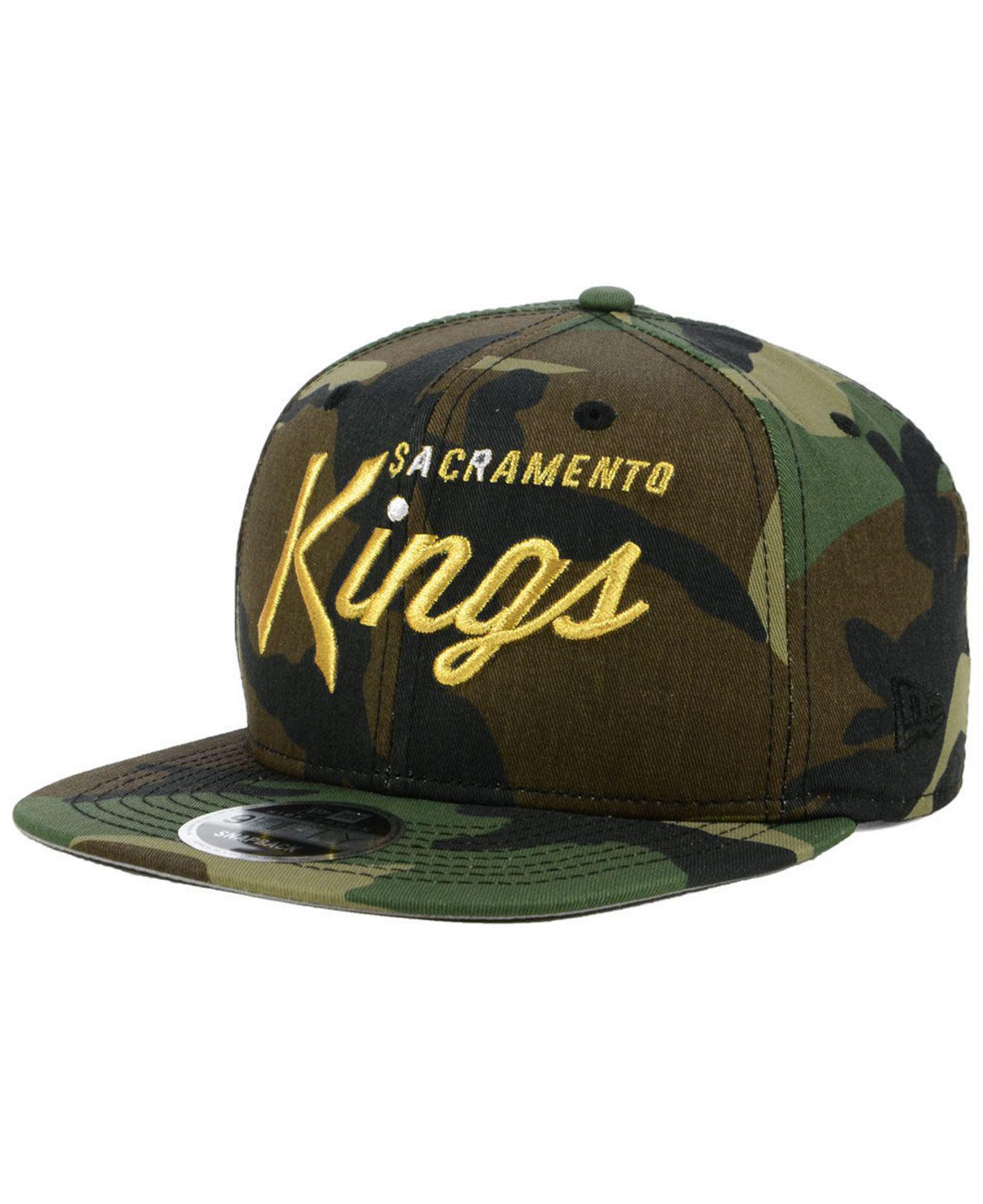 lowest price 1ce86 d20e9 ... Sacramento Kings Classic Script 9fifty Snapback Cap for Men - Lyst.  View fullscreen
