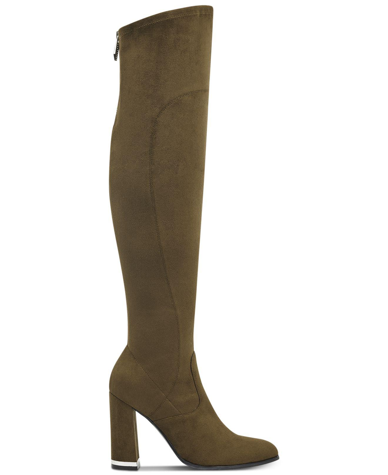 3e5c419a2d9 Lyst - Marc Fisher Natier Over-the-knee Boots in Green