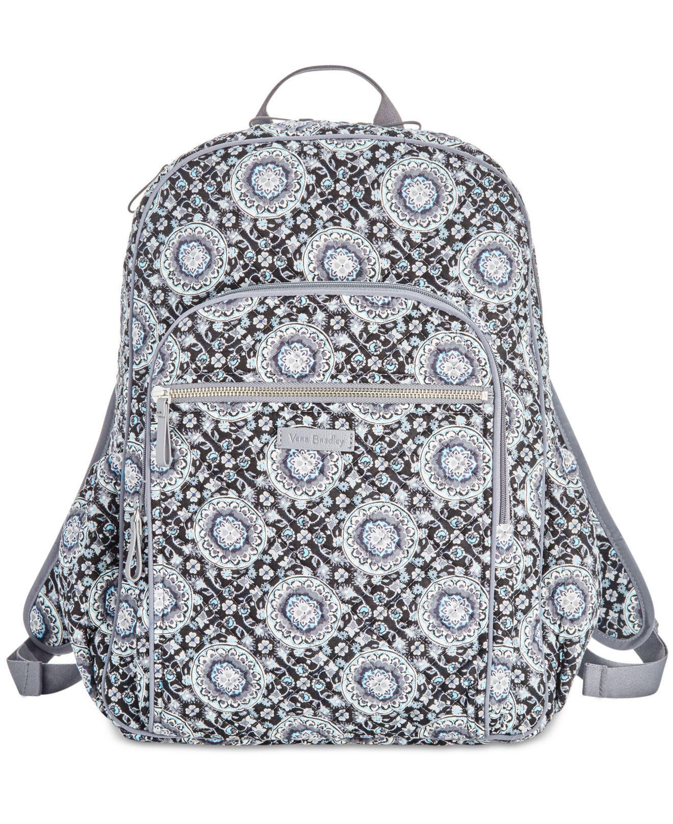 61d874e676ec Lyst - Vera Bradley Campus Tech Backpack in Gray