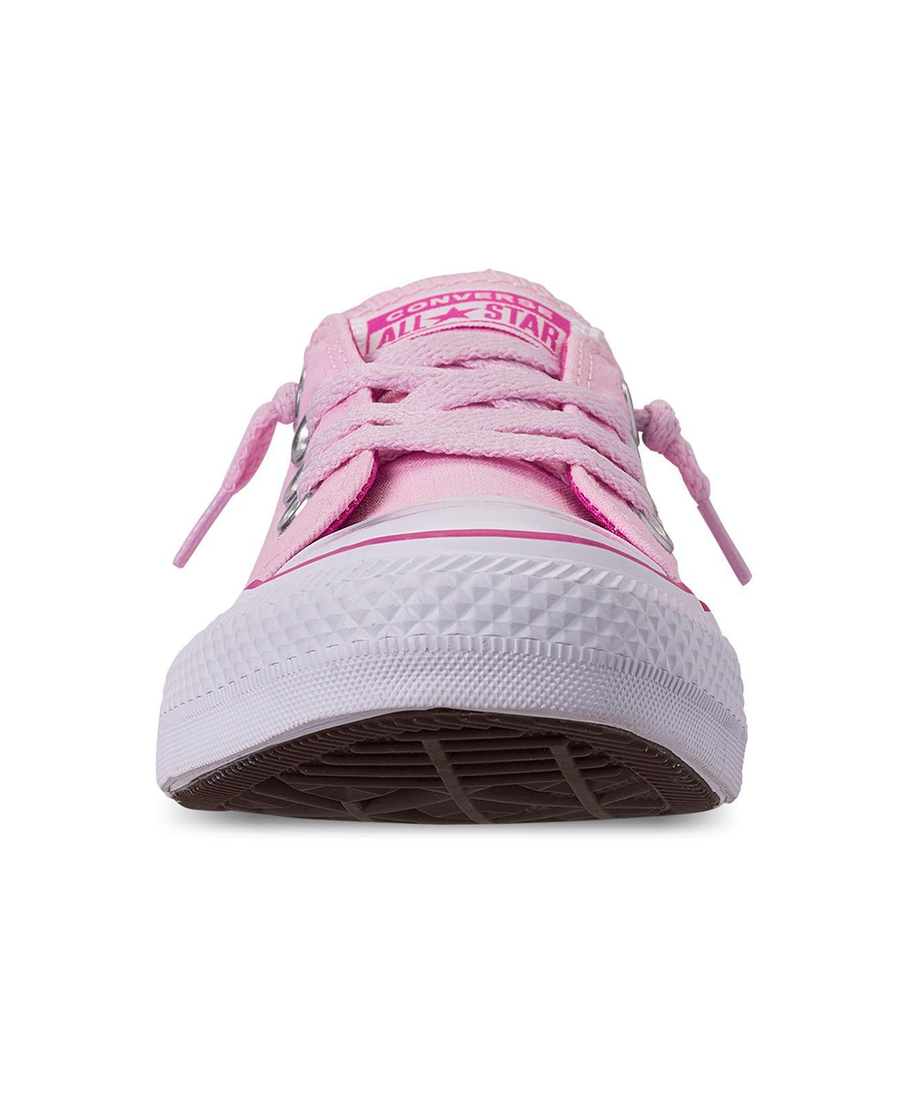 Converse - Pink Chuck Taylor All Star Shoreline Slip-on Sneaker (women) -.  View fullscreen b622643de