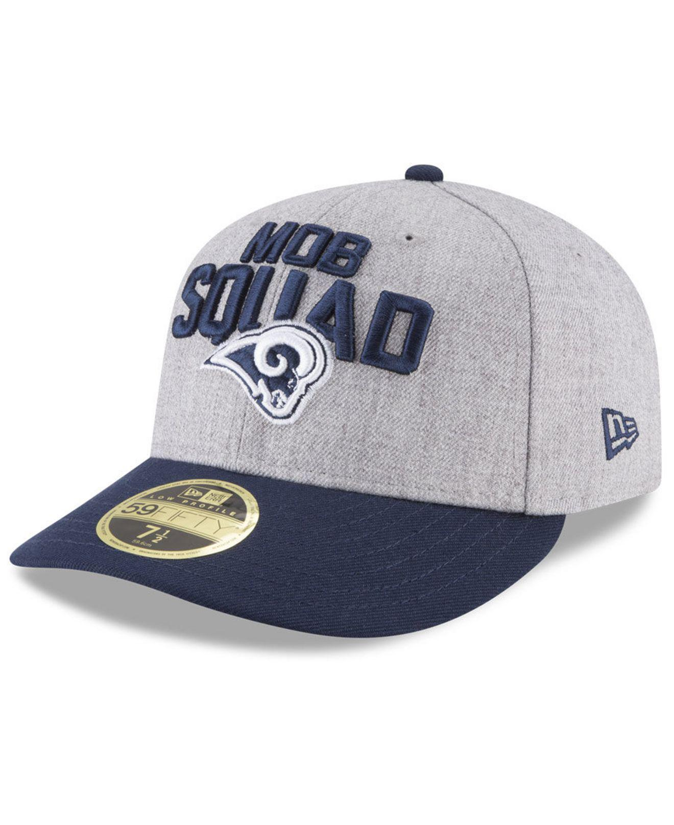 outlet store 15ae0 77e79 Lyst - KTZ Los Angeles Rams Draft Low Profile 59fifty Fitted Cap in ...
