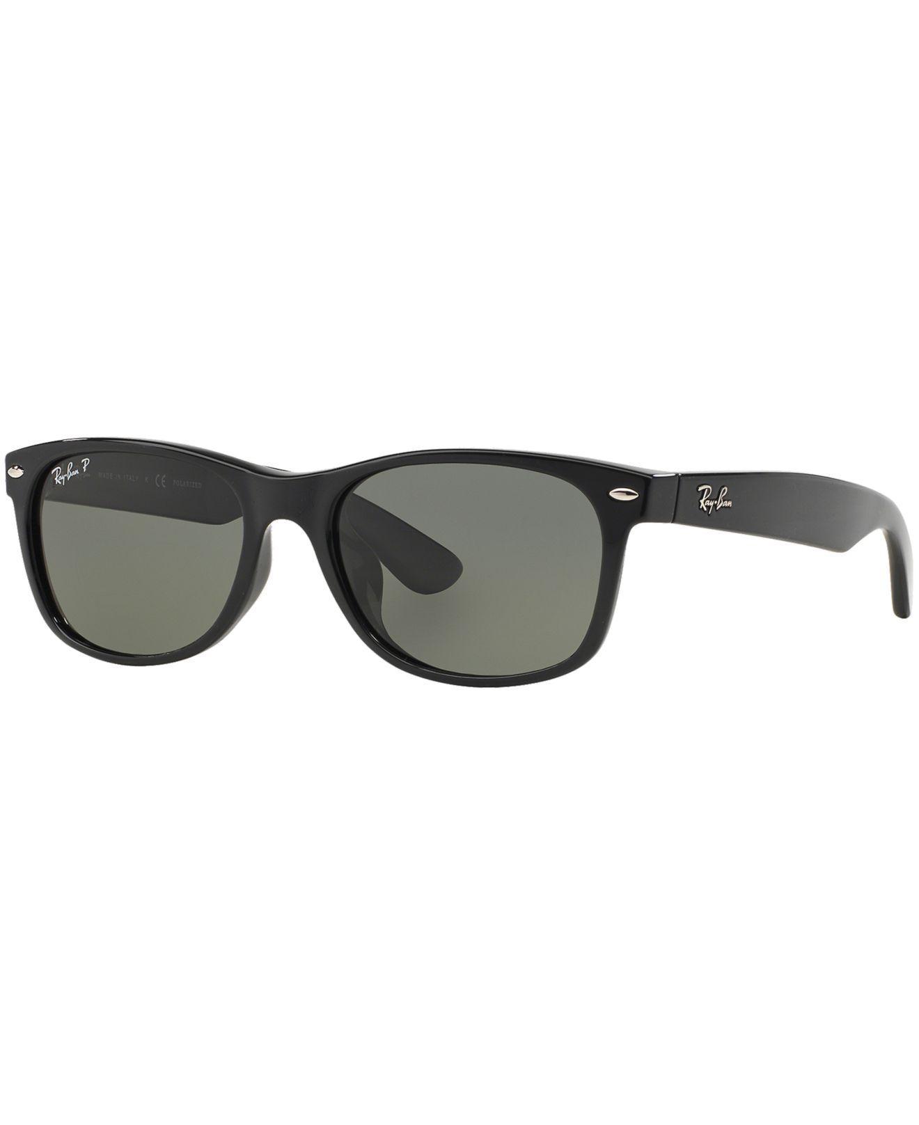 c746e942f9fc5 Ray-Ban. Men s Black Polarized Sunglasses