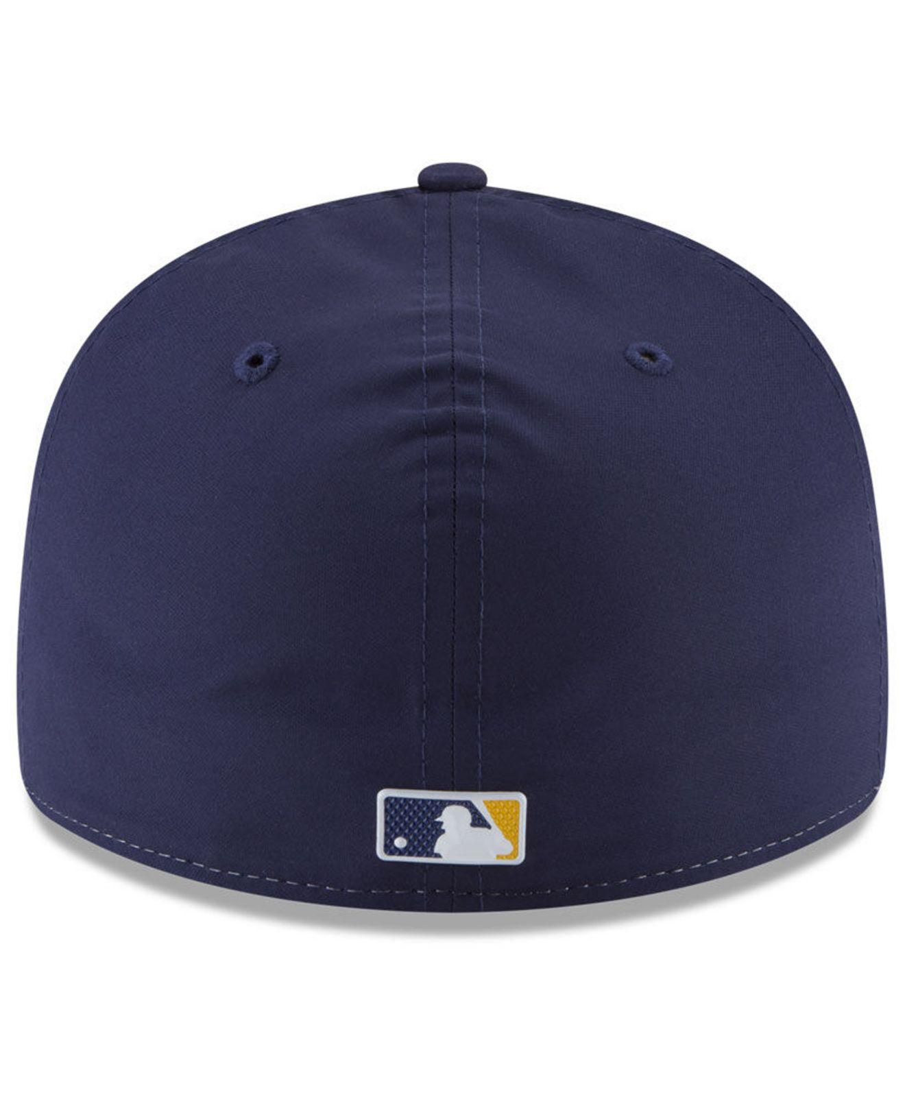 021cd99be30ee1 KTZ Milwaukee Brewers Spring Training Pro Light Low Profile 59fifty ...