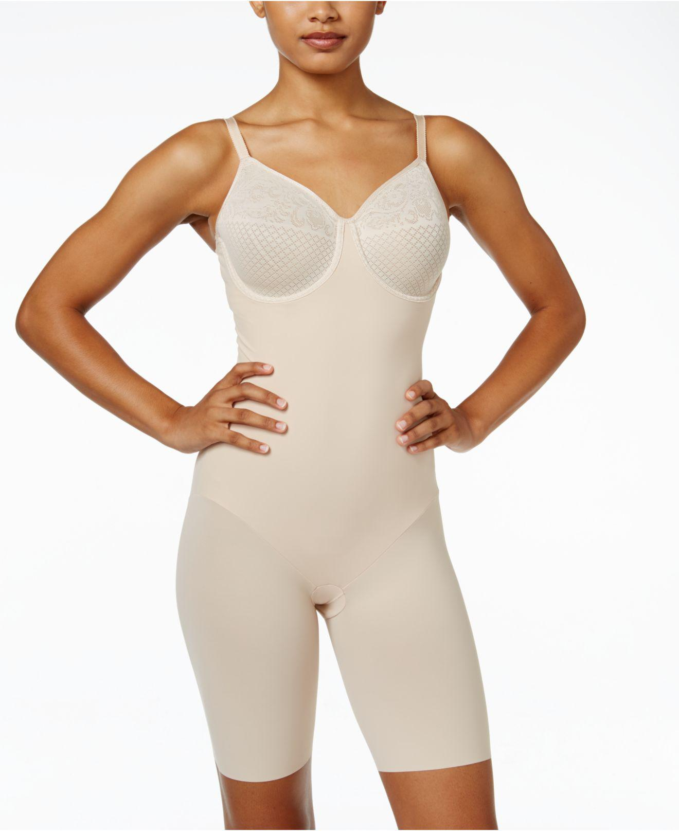 44bc01ecd5 Lyst - Wacoal Visual Effects Firm Control Body Shaper 802210 in Natural