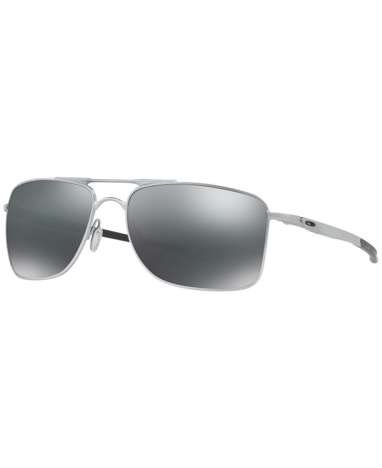 6cbf185cd2 Oakley. Men s Gray Gauge 8 Sunglasses ...