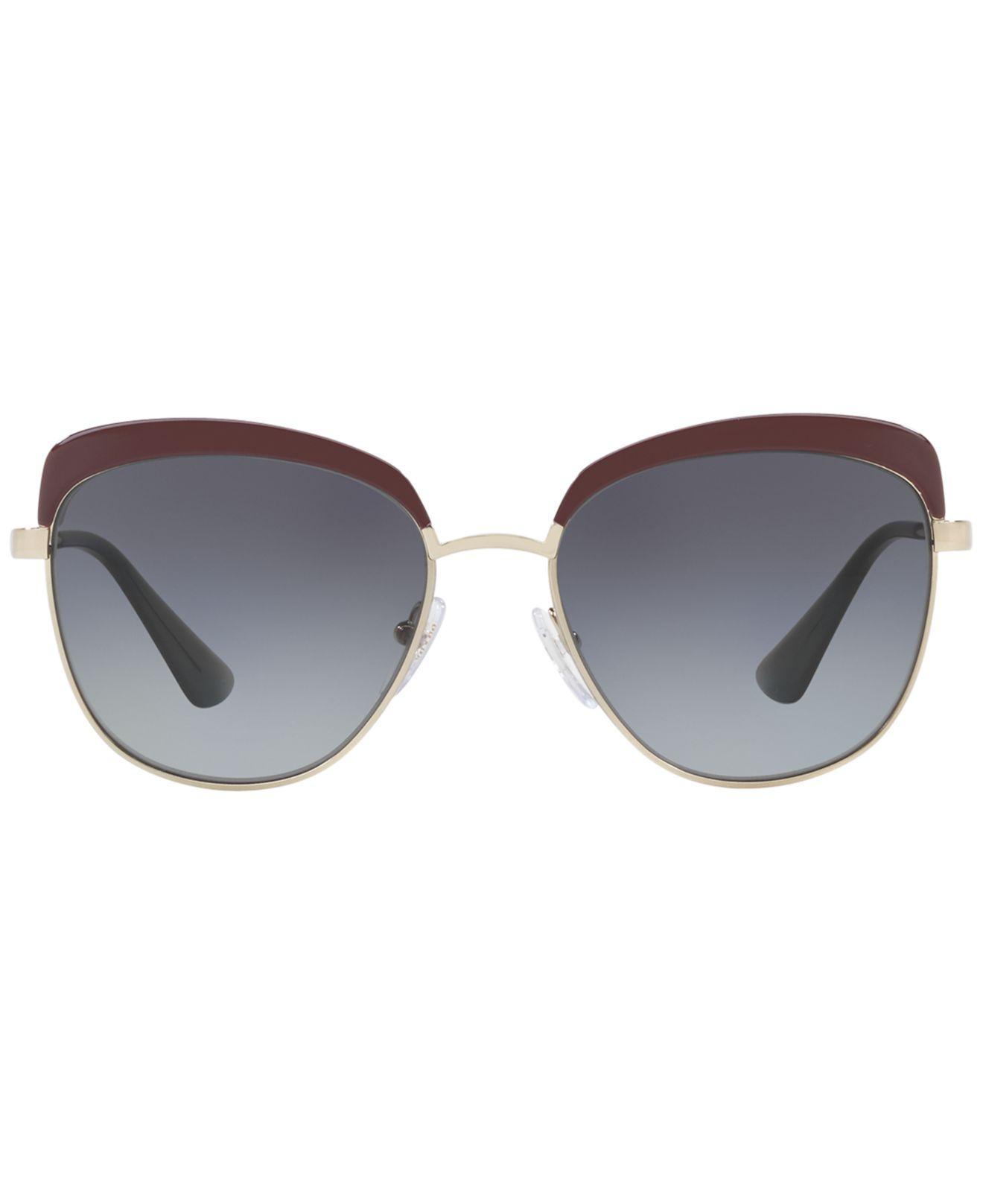 699f6433b294 ... canada lyst prada sunglasses pr 51ts in gray e60c4 41b7b new zealand prada  pr 51ts antique gold ...