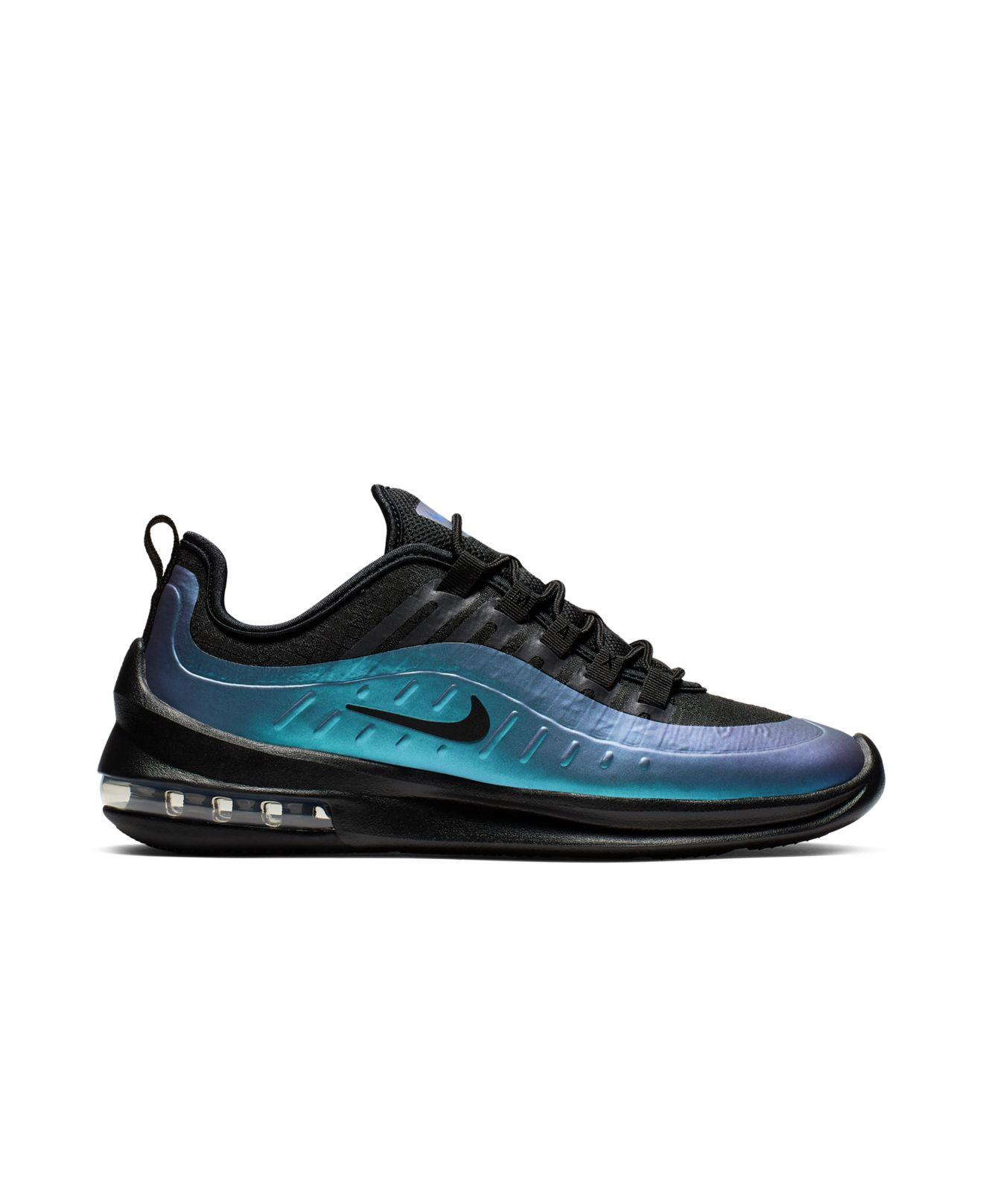 lowest price dba6a 12d0b Nike Air Max Axis Premium Casual Sneakers From Finish Line in Black ...