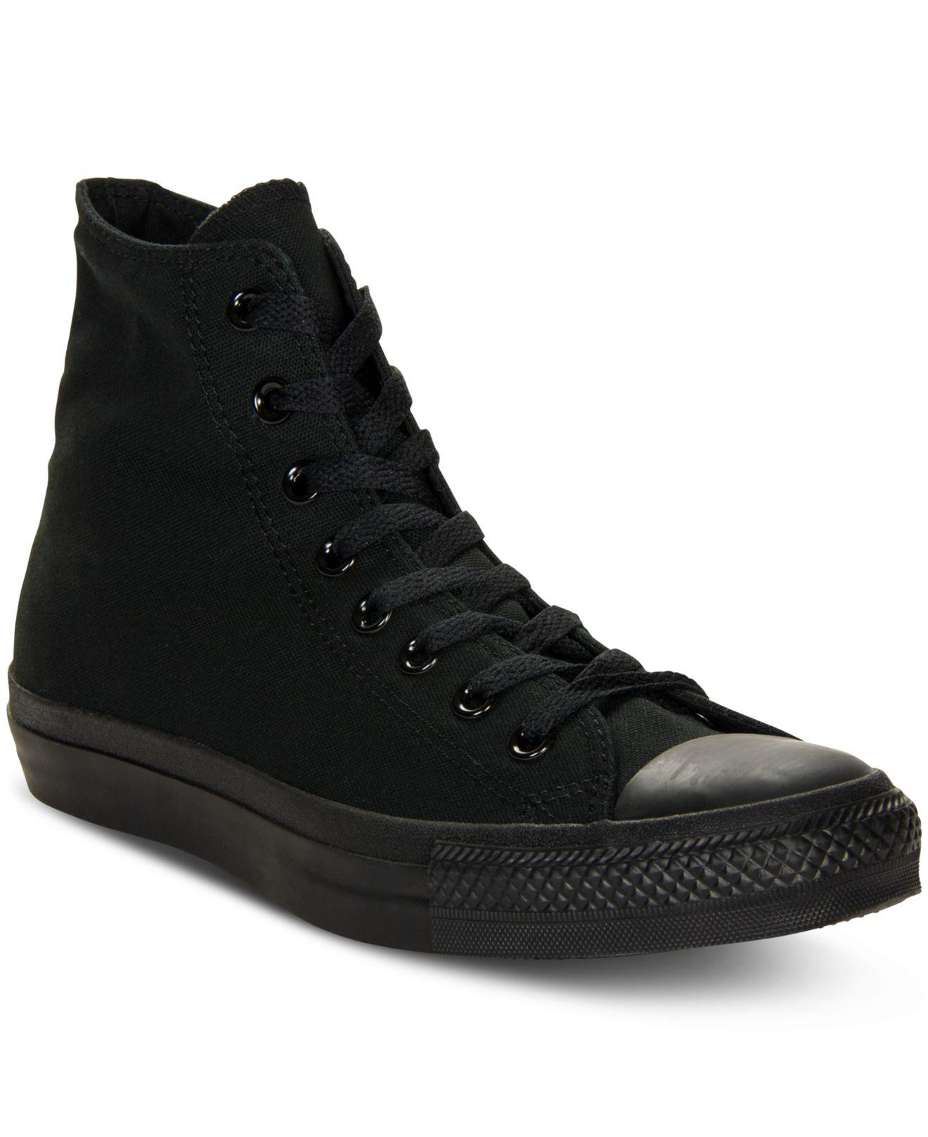 372e1003bdee Lyst - Converse Monochrome Chuck Taylor Hi Tops in Black for Men ...
