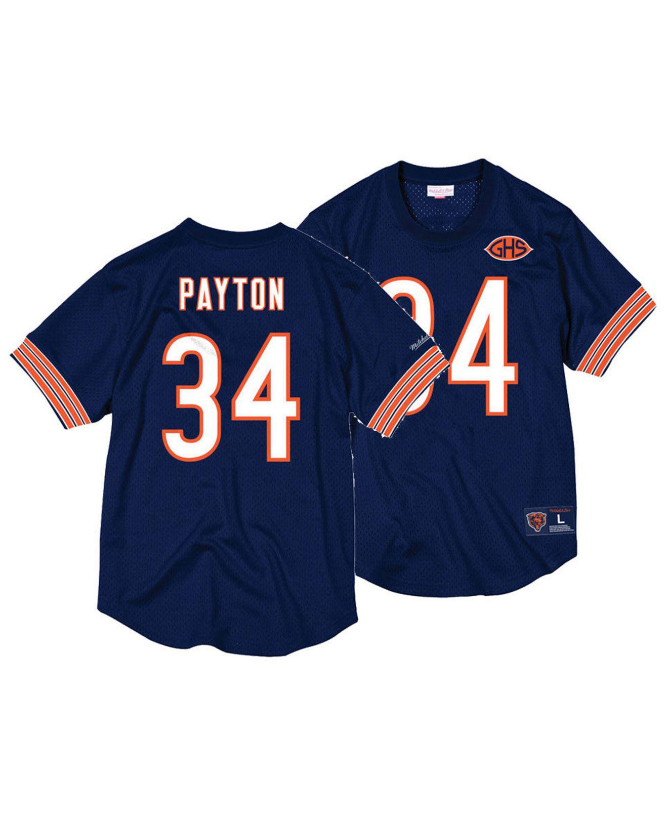 Lyst - Mitchell   Ness Walter Payton Chicago Bears Mesh Name And ... 1a86ea4af