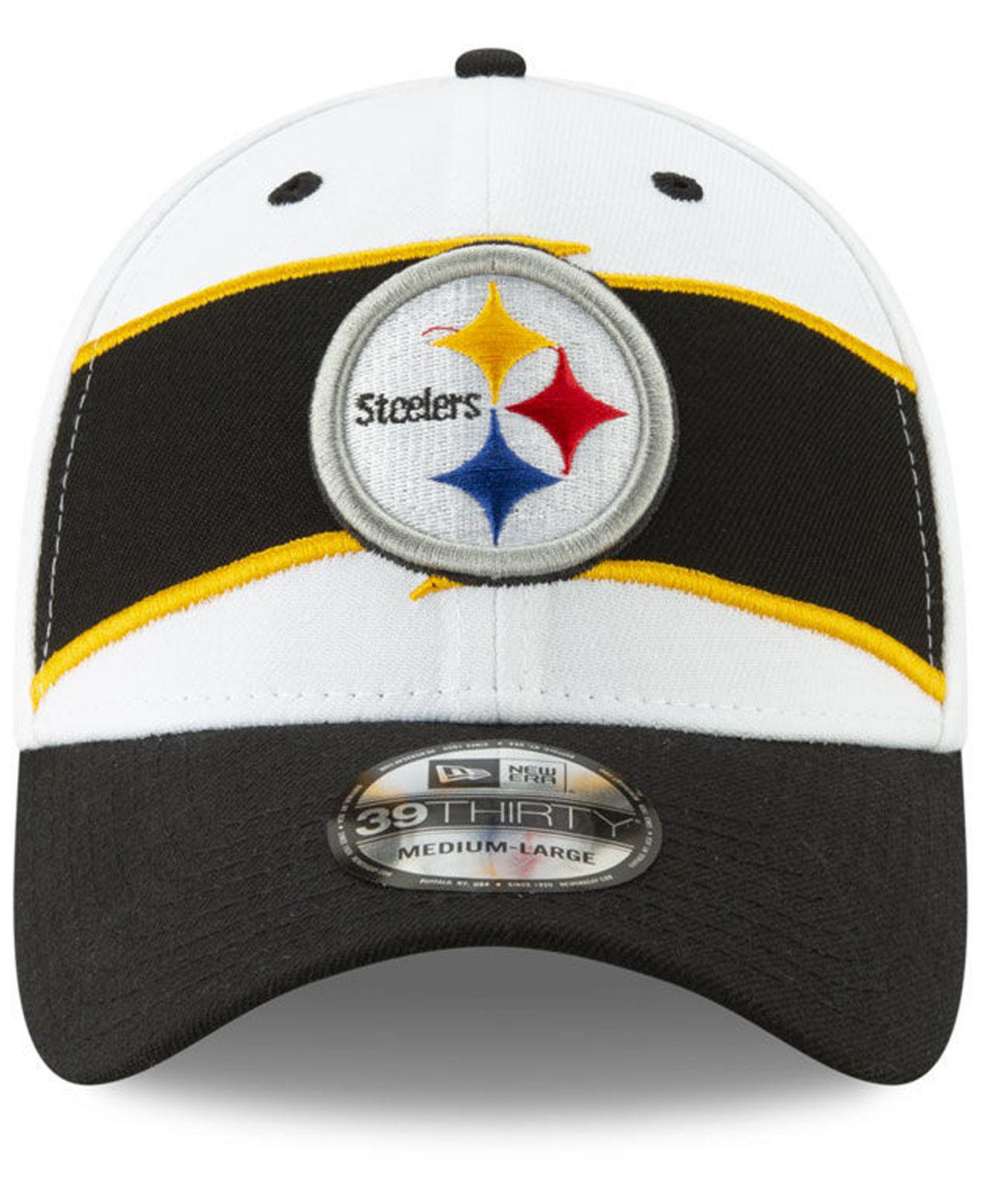 dbb0d037d66 Lyst - KTZ Pittsburgh Steelers Thanksgiving 39thirty Cap in Black for Men