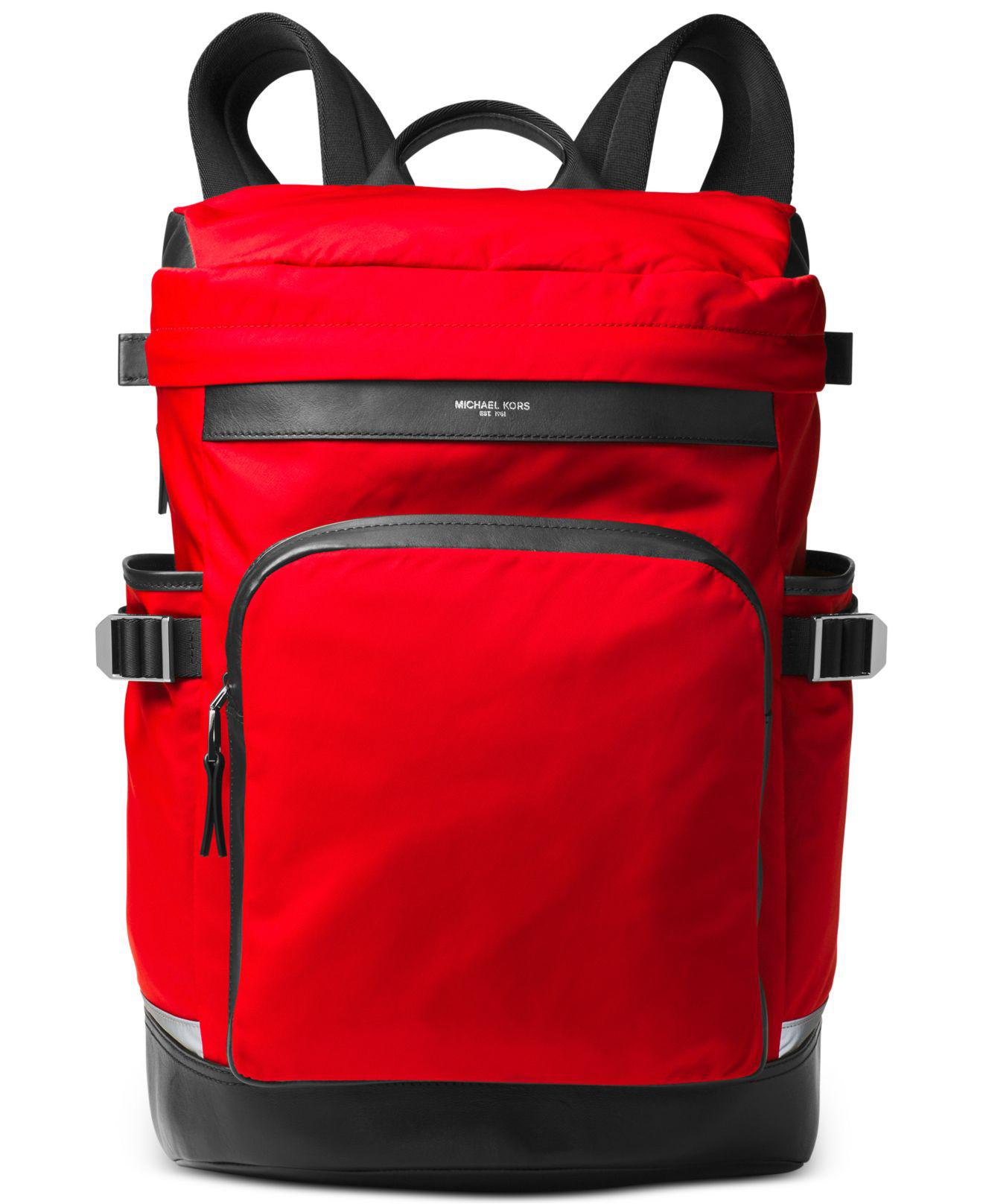 77e7ce1b9f0a Michael Kors Men s Kent Cycling Backpack in Red for Men - Lyst