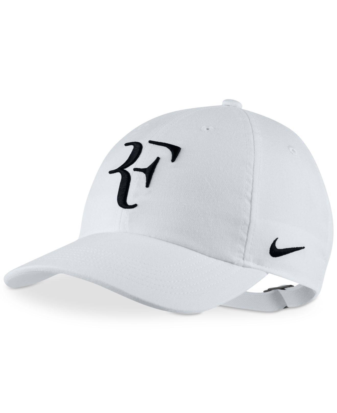 dd926cdf32629 Lyst - Nike Court Federer Tennis Hat in White for Men